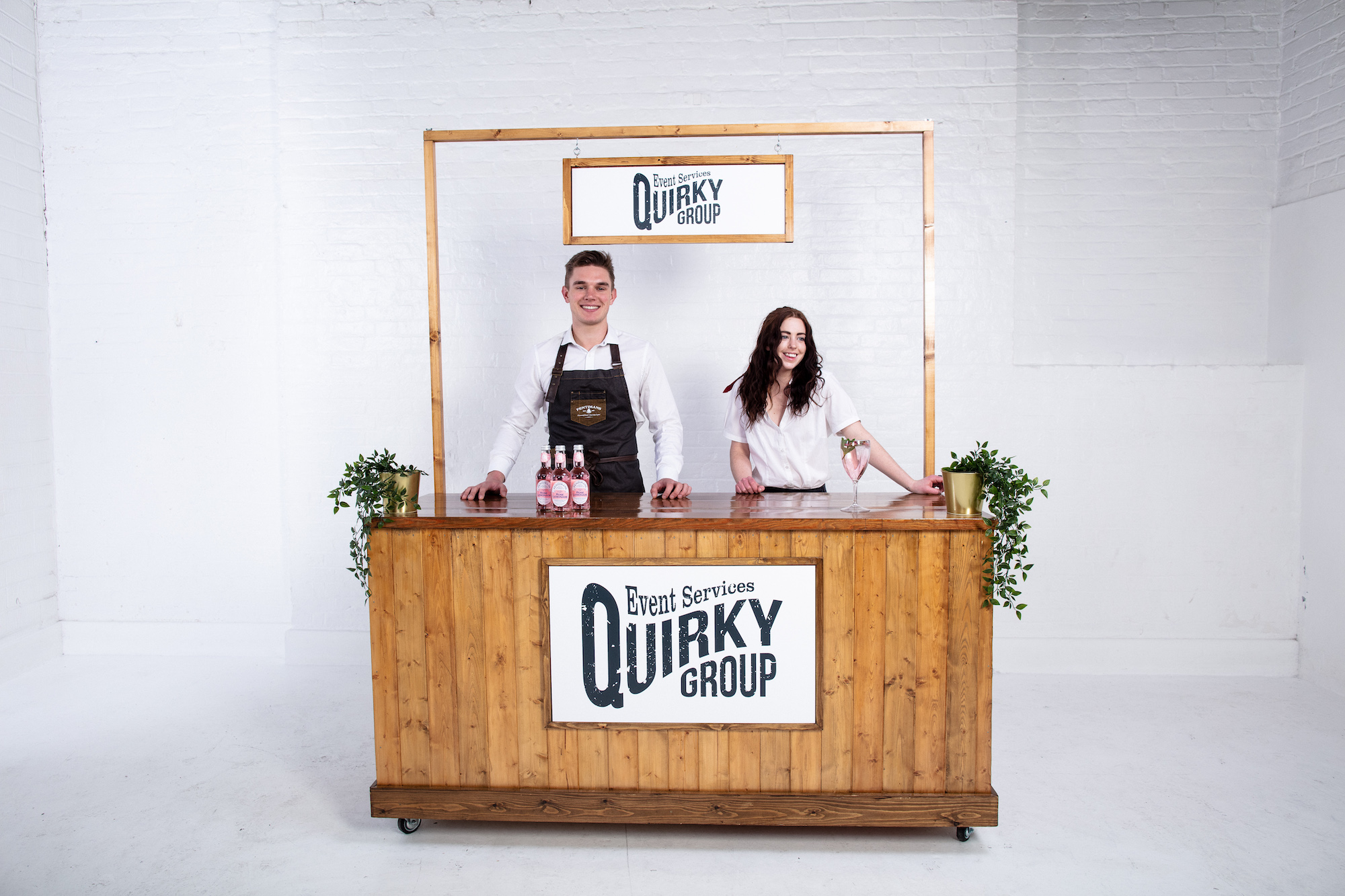 Quirky Group Six Foot Bar for hire