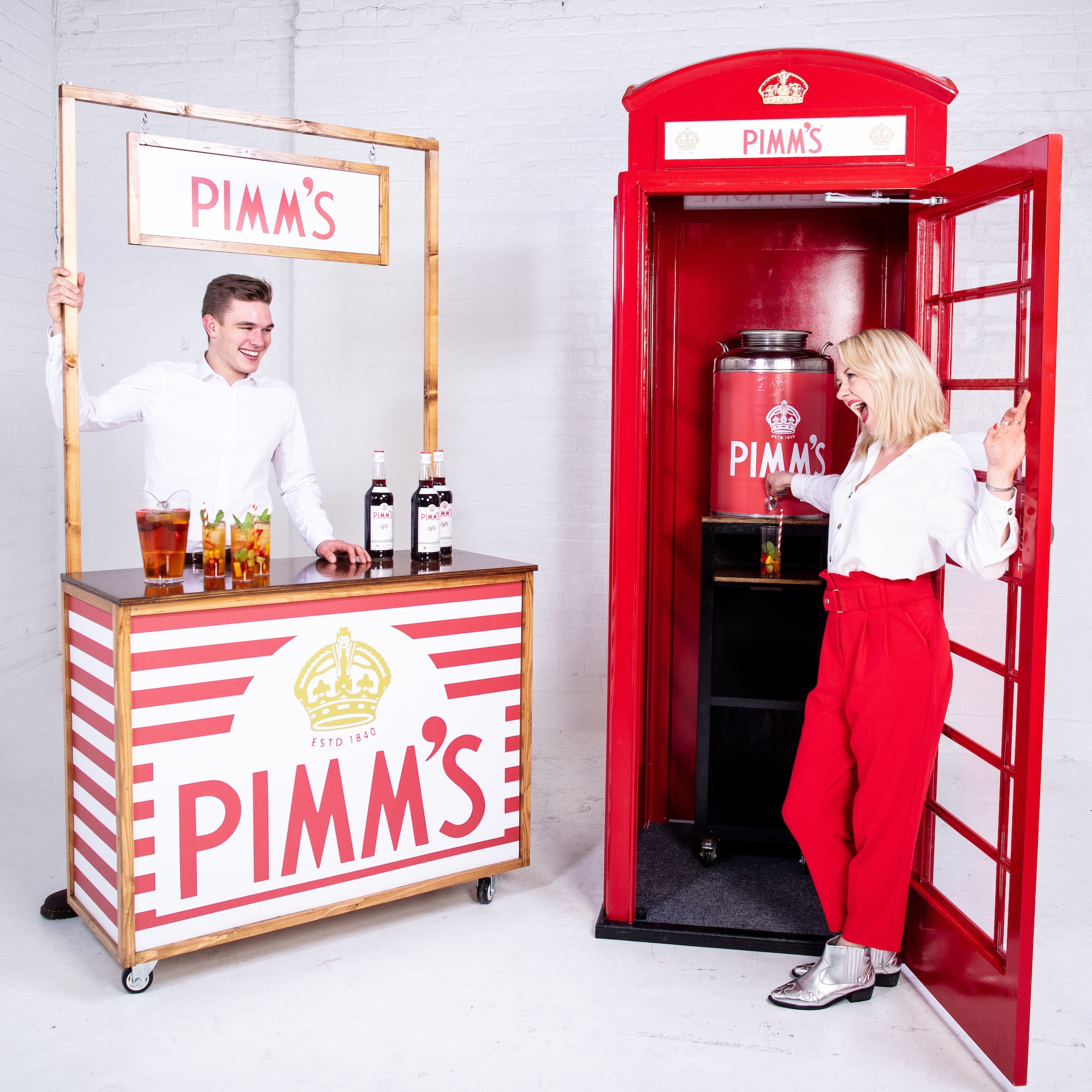 Quirky+Group+Pimm%27s+Bars+Hire