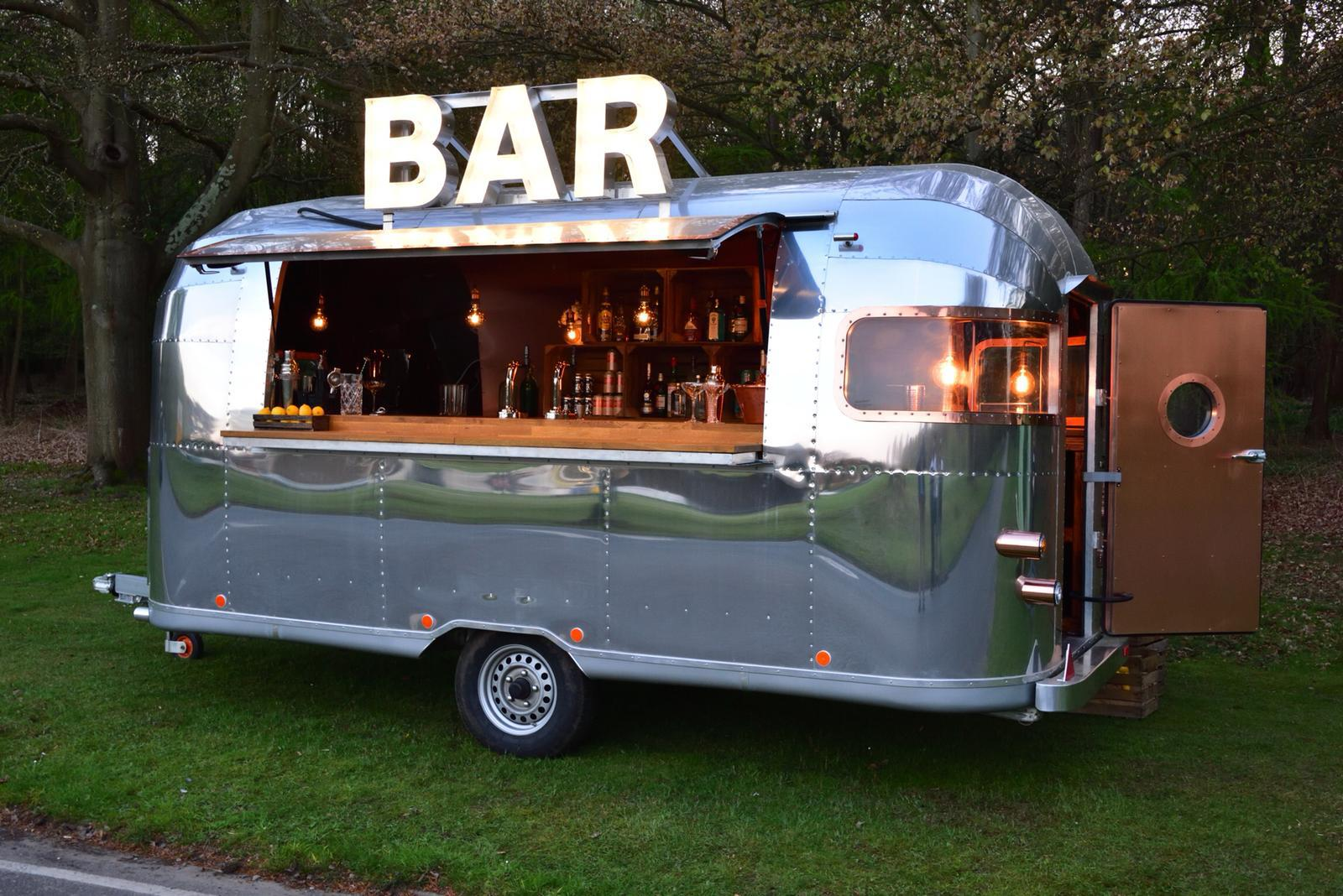 quirky group airstream bar hire