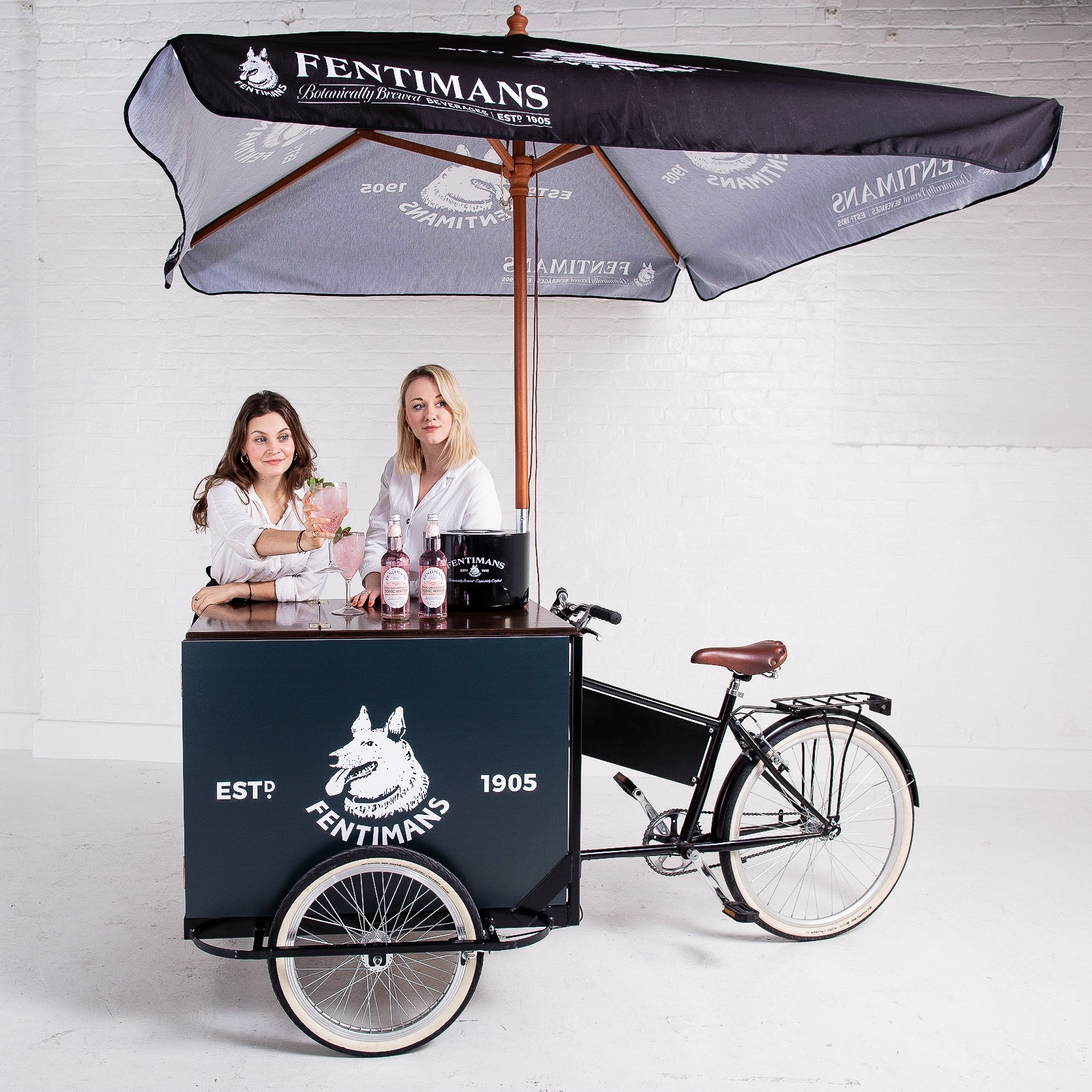 Tricycle+Bar+Fentimans+Staff+-+Fentimans+branded+with+Brand+Ambassadors
