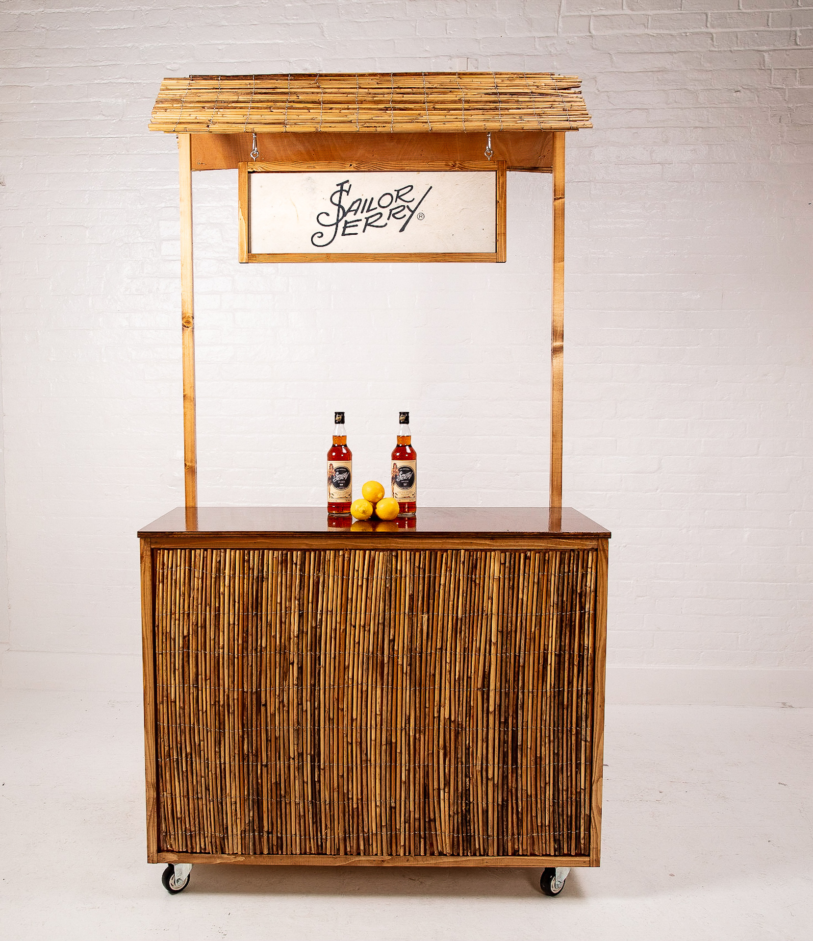 Quirky Group Small Tiki Bar Front
