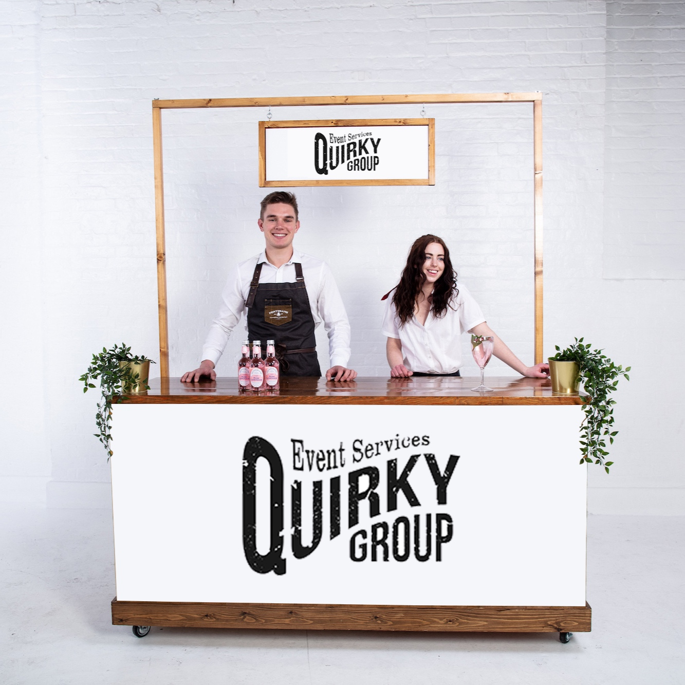 6 Foot Bar Staff - Quirky Group Bar For Hire