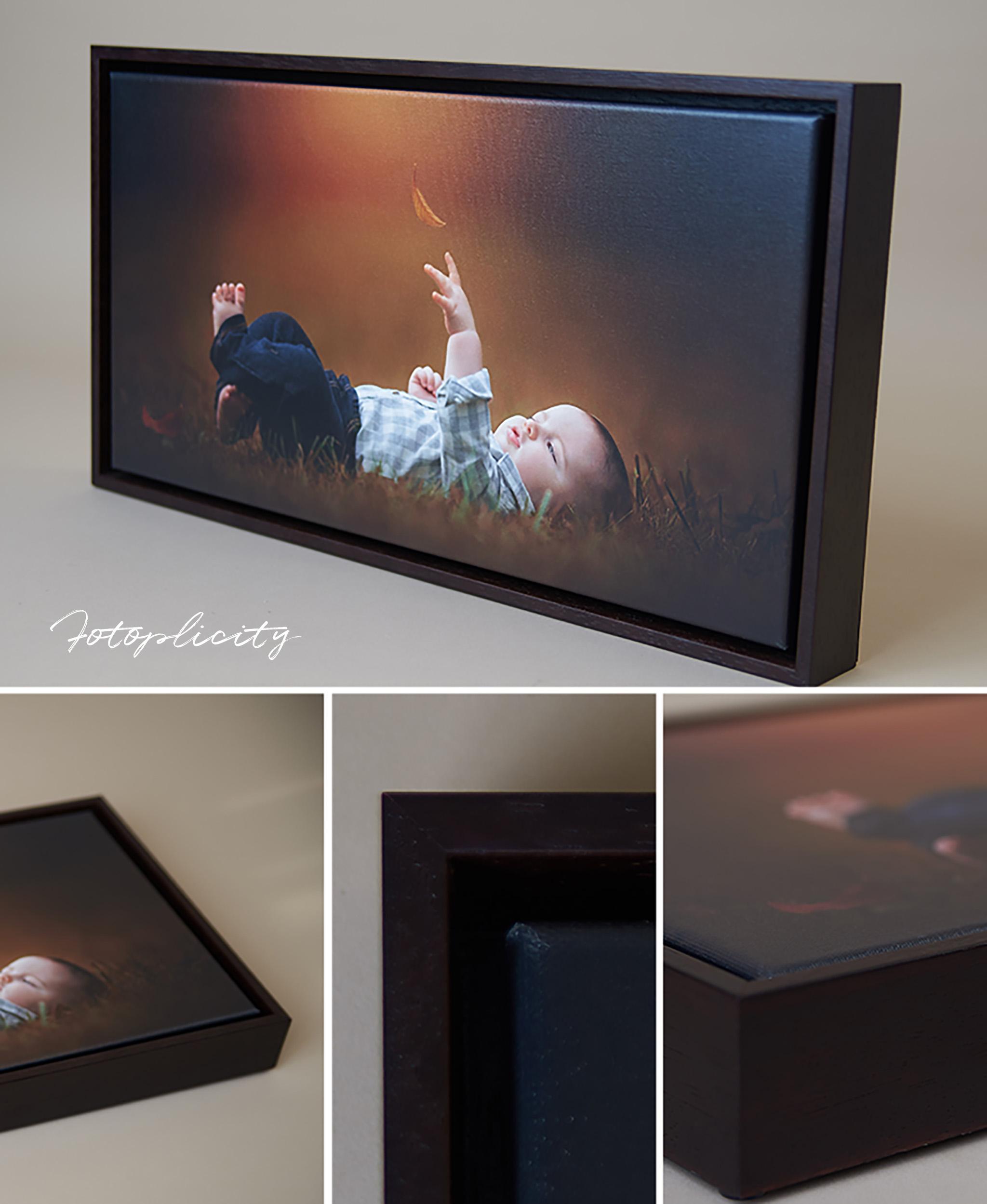 Framed Canvas & Metal