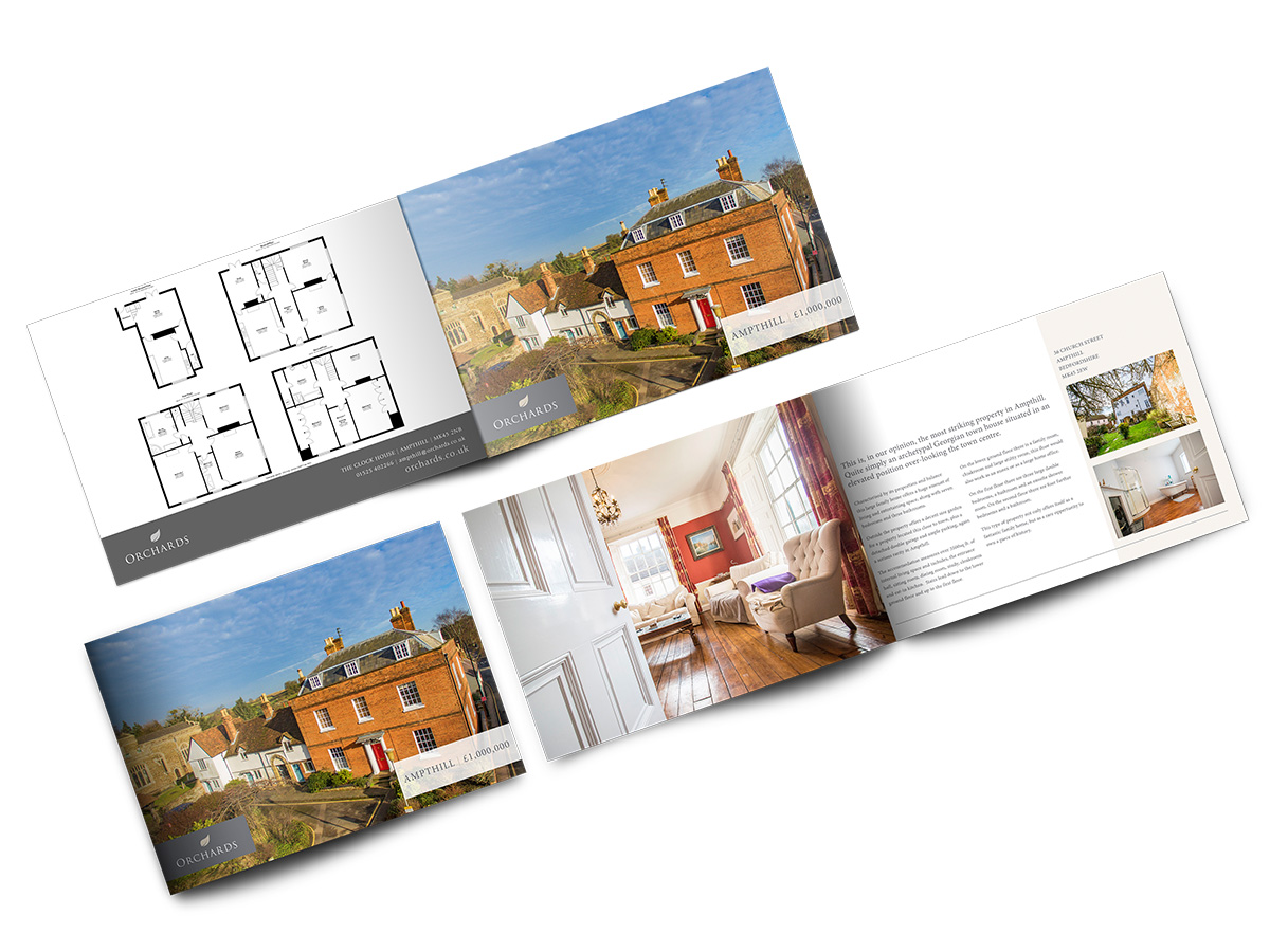 Professionally Printed Brochures - Stunning Laminated Property Brochures