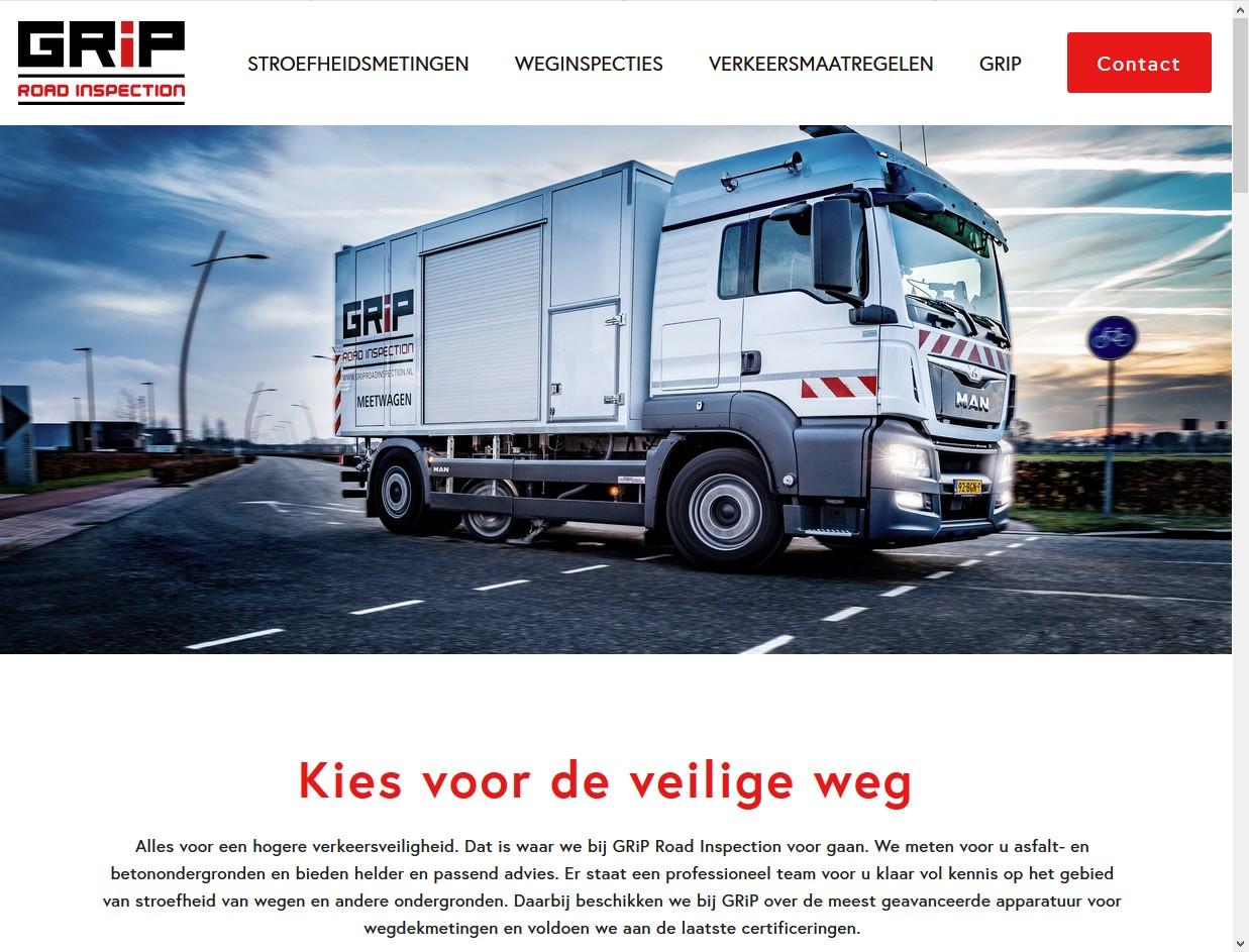 Voor GRiP maakte Meewind de website, inclusief alle teksten, brochuremateriaal en verzorgen we het GRiP-blog.
