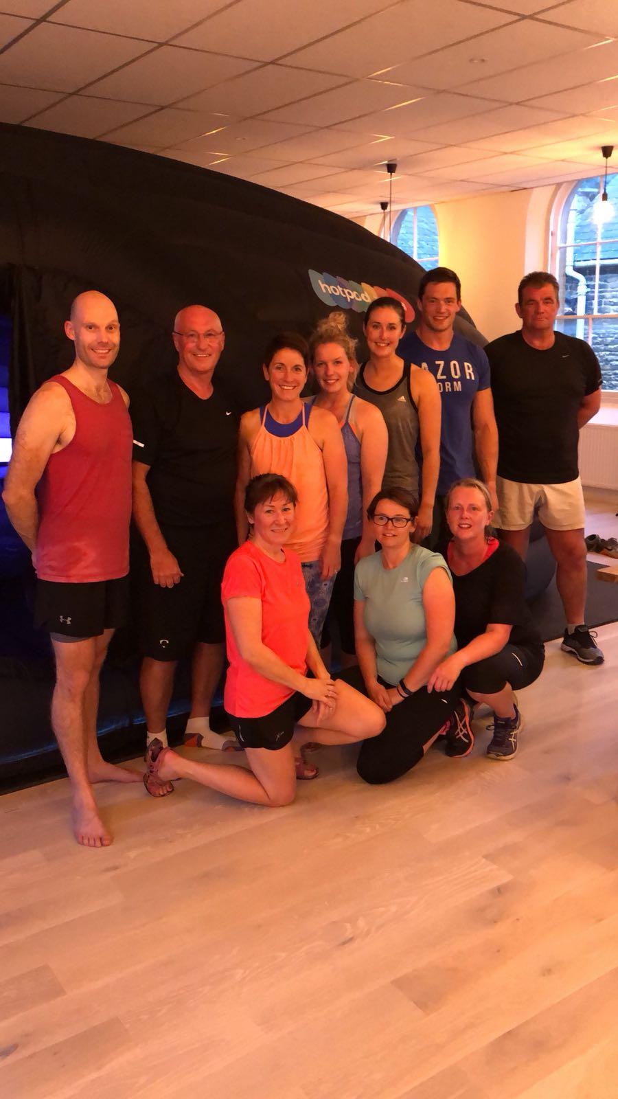 The Move4 Physio Family at Hot Pod Yoga Northampton