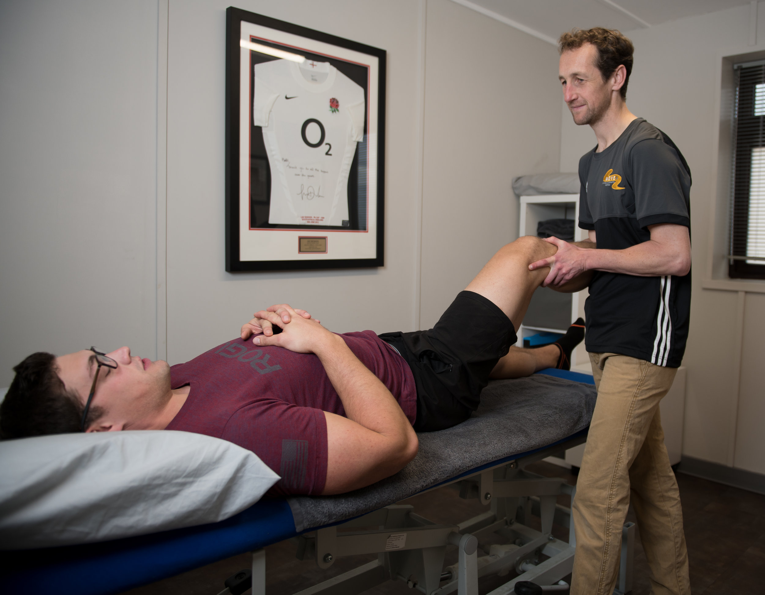 Follow up assessment Move4 Physiotherapy Northampton Nathan Allwork