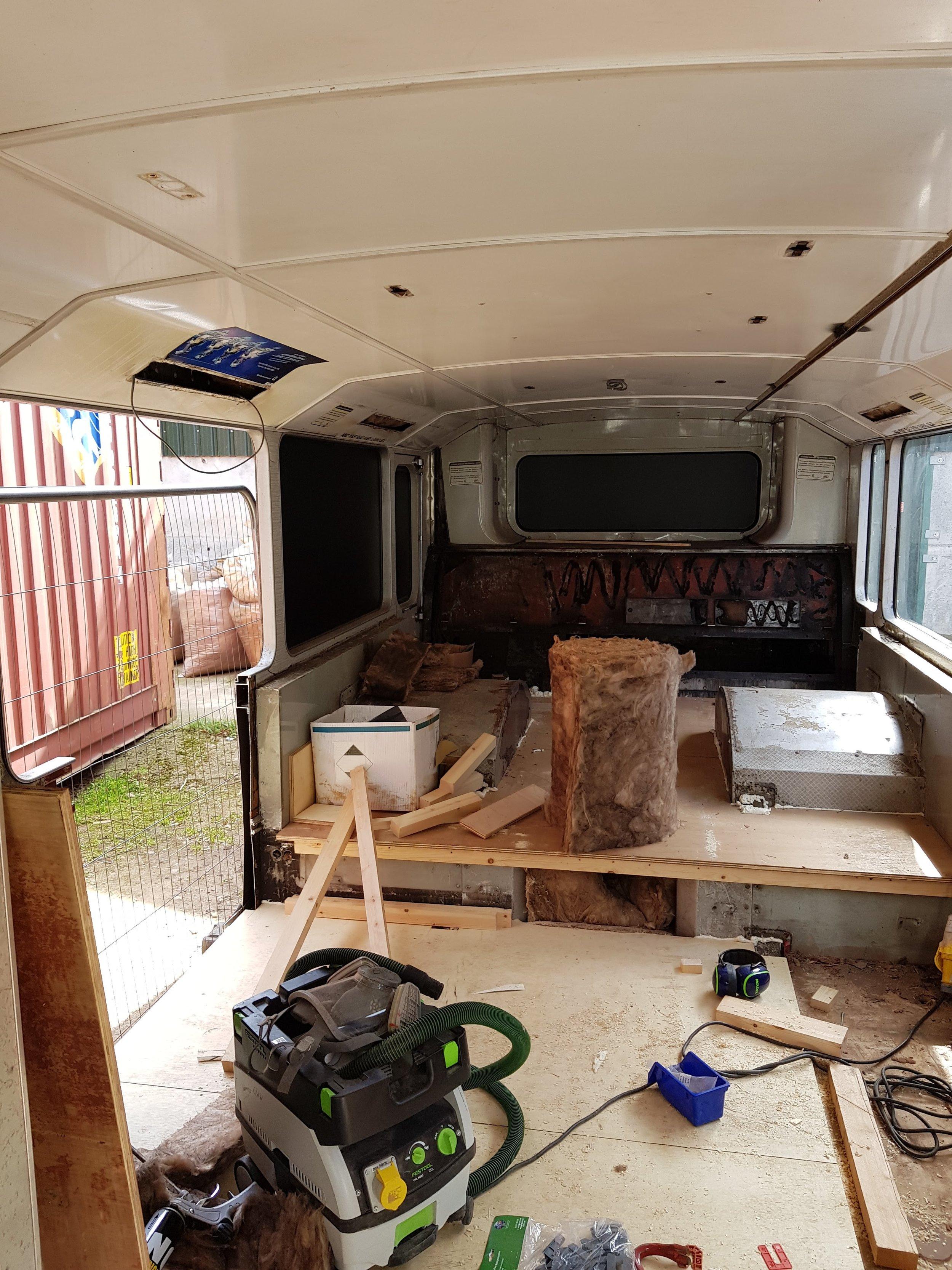 Bus Conversion Progress 02