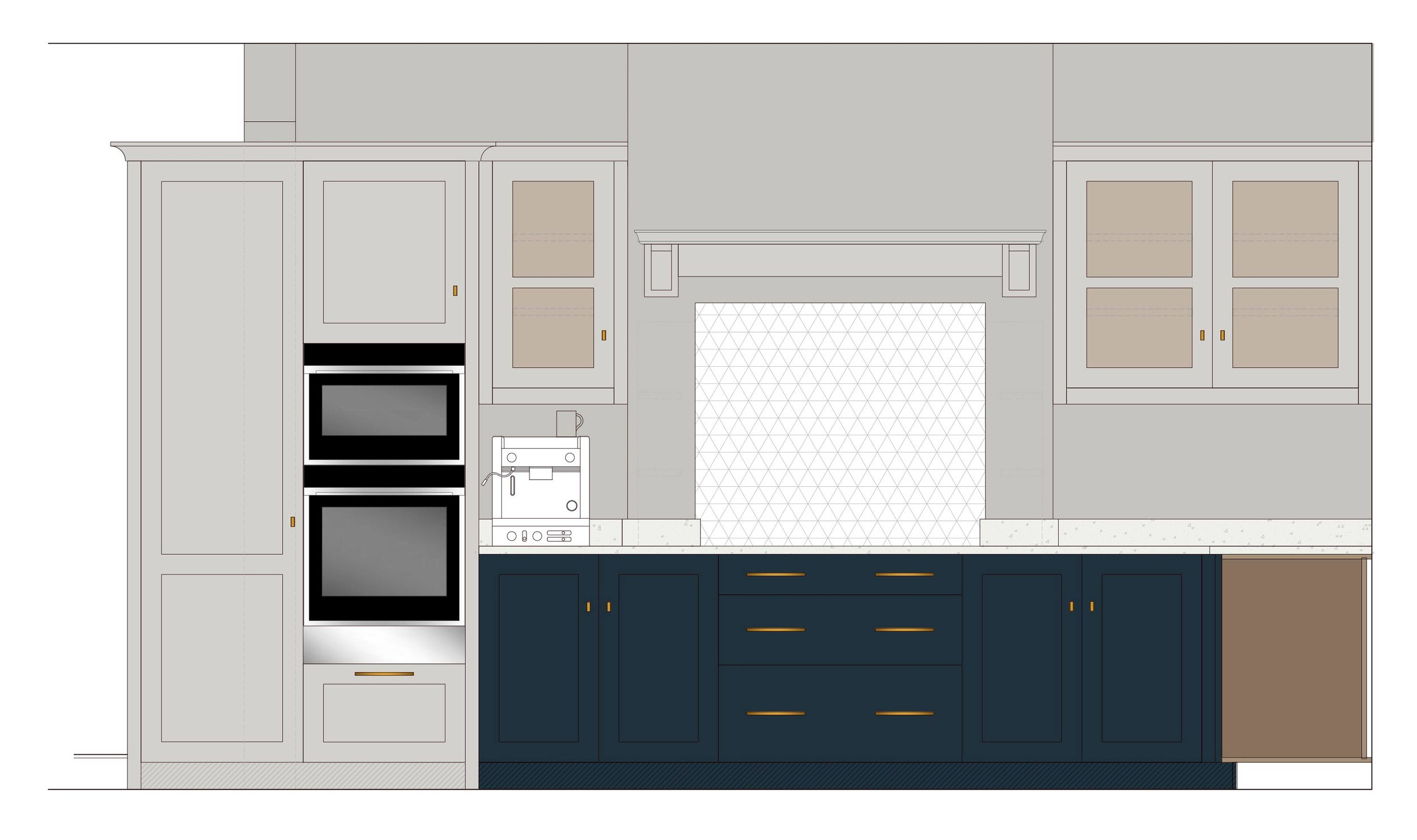 Kitchen Elevation Drawing