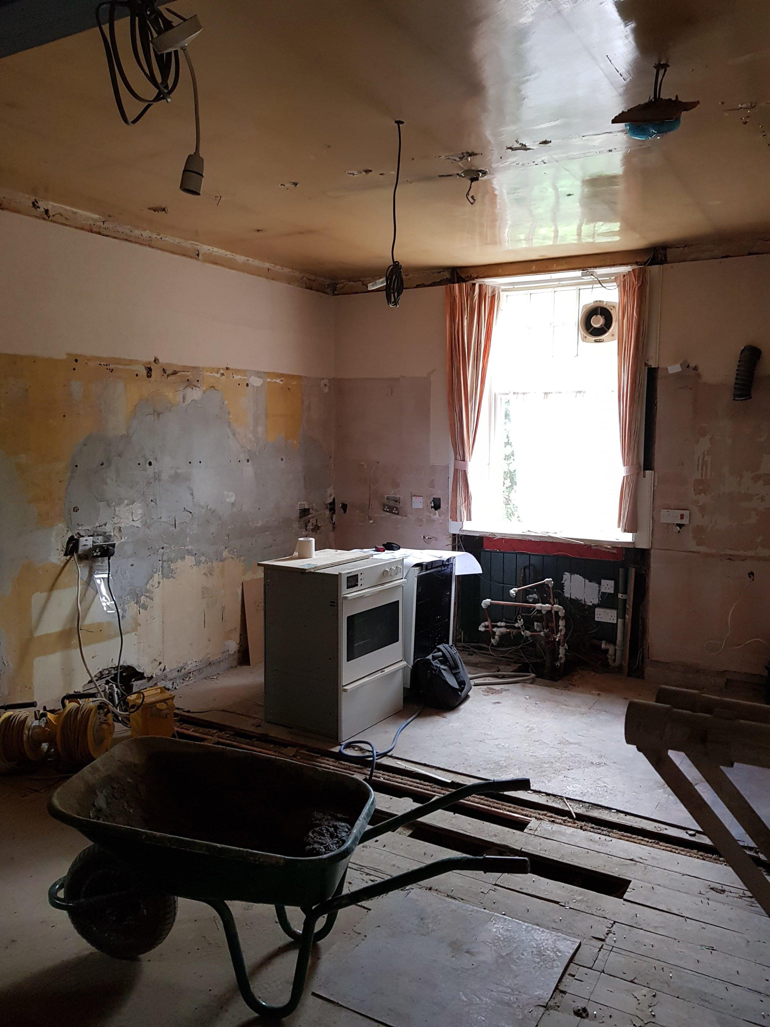 Kitchen During Renovation 01