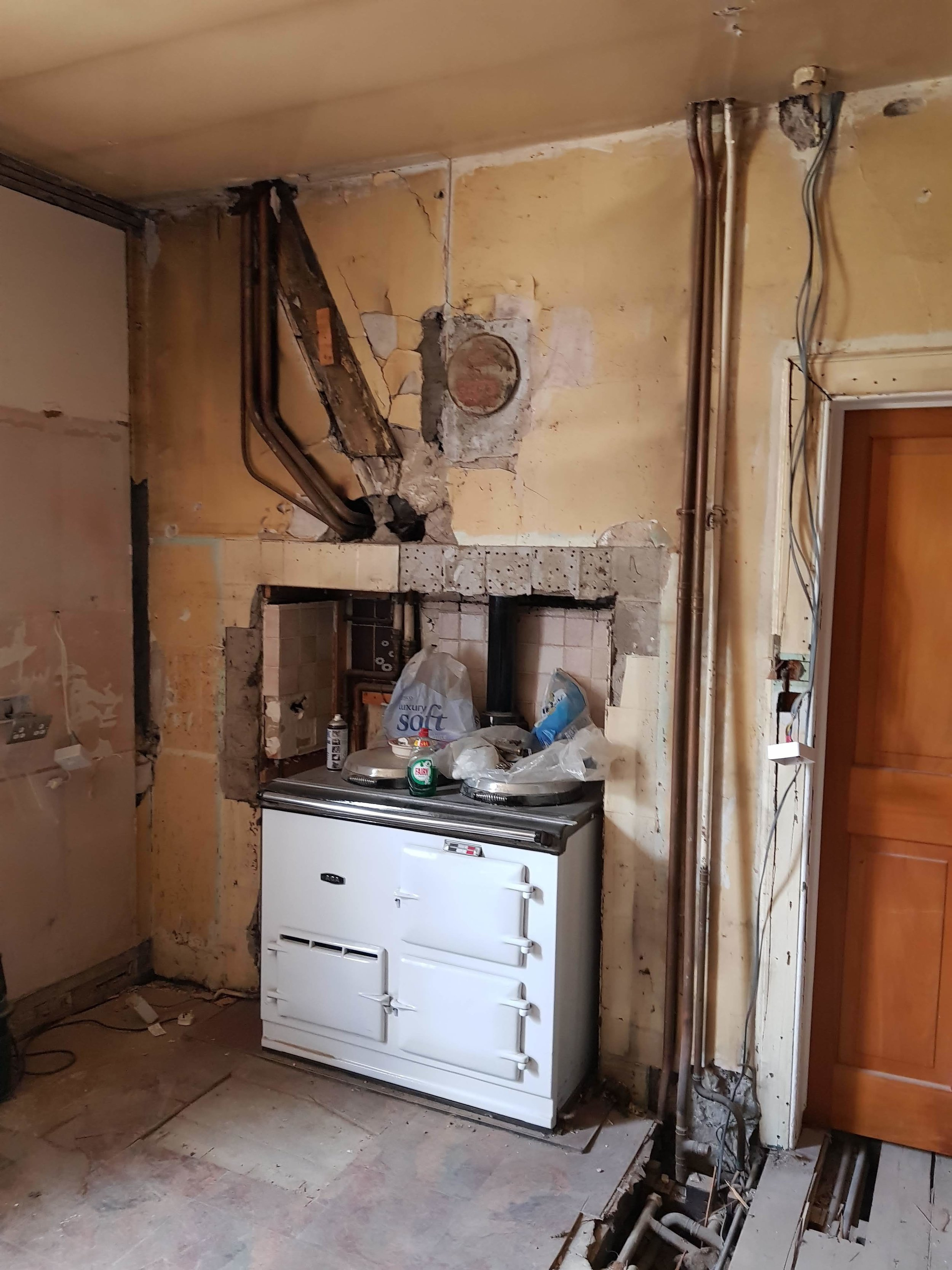Kitchen During Renovation 02