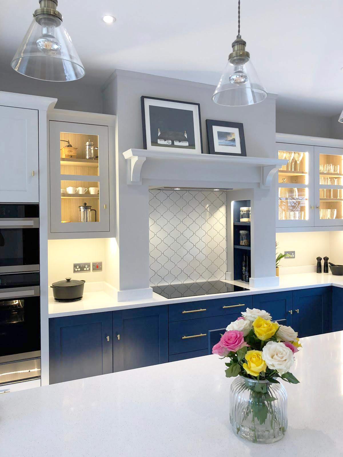Bespoke Kitchen Mantle