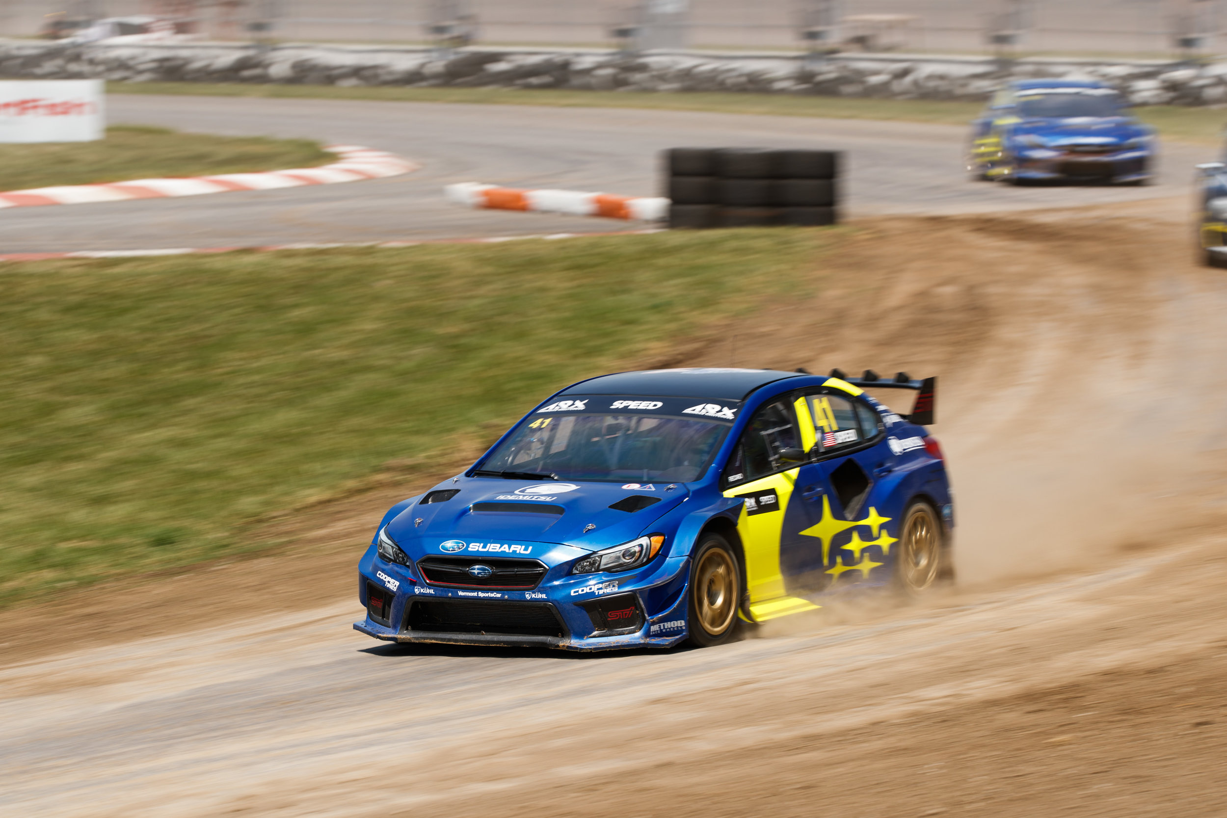 Scott Speed Leads After Q2 at ARX of Gateway — ARX Rallycross