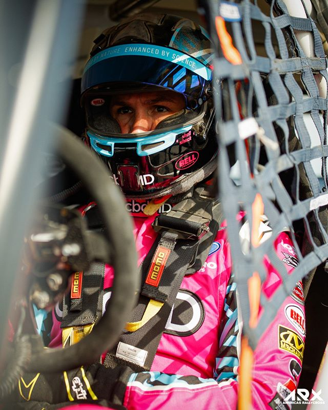 👀 ARX social tomorrow for how you can join the fight against breast cancer with ARX driver @arpin00.  #ARX | #Rallycross | #TeamCooperTire