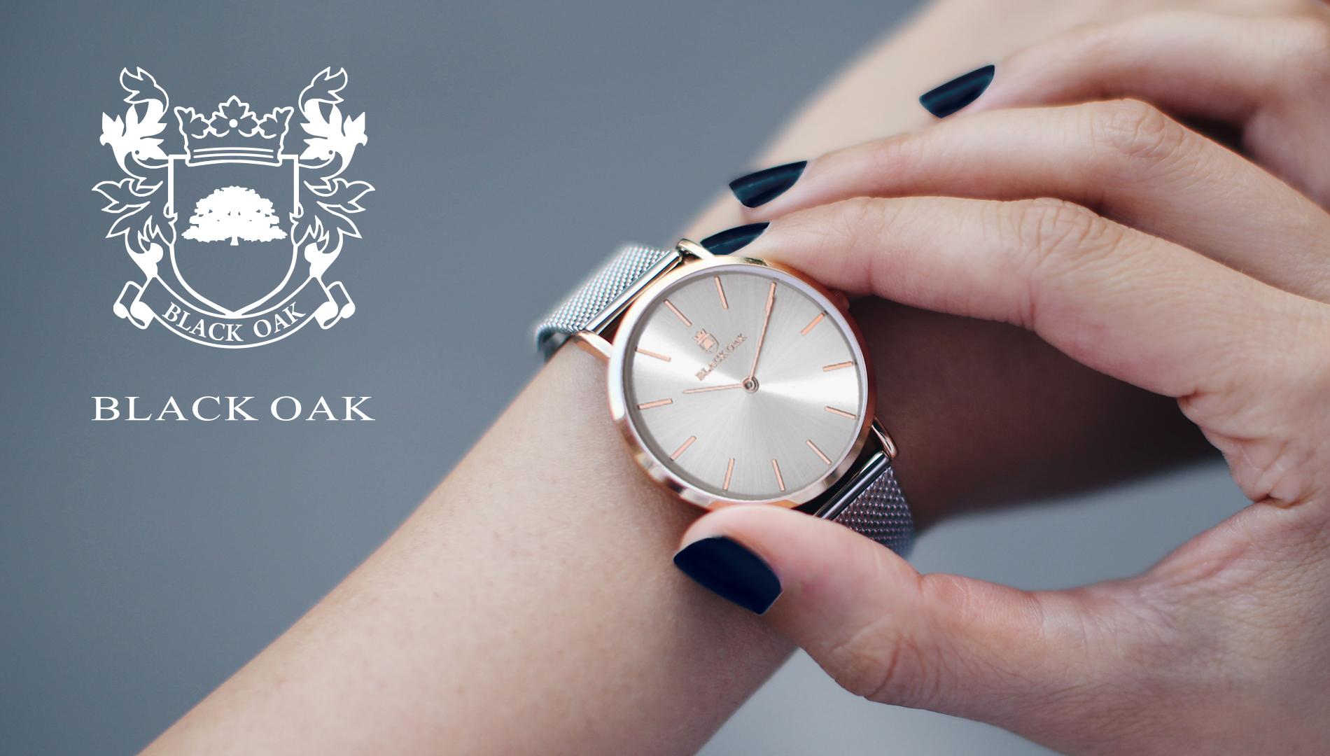 Une montre intemporelle - Lorsque Black Oak a été conceptualisé pour la première fois, nous voulions que la montre soit exactement comme son nom l'indique;fort, beau et simple. Le style minimalist de la montre Black Oakest pour tous les goûts.