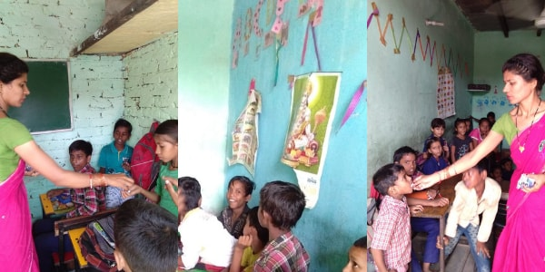 The school distributed deworming tablets to ensure that no child falls sick.