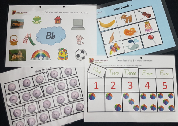 Adapted Worksheets