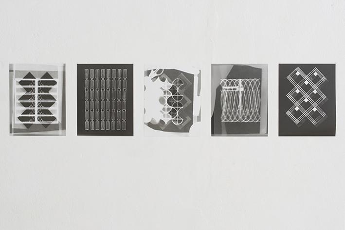 Photograms, 20.3cm x 25.4cm, 2016