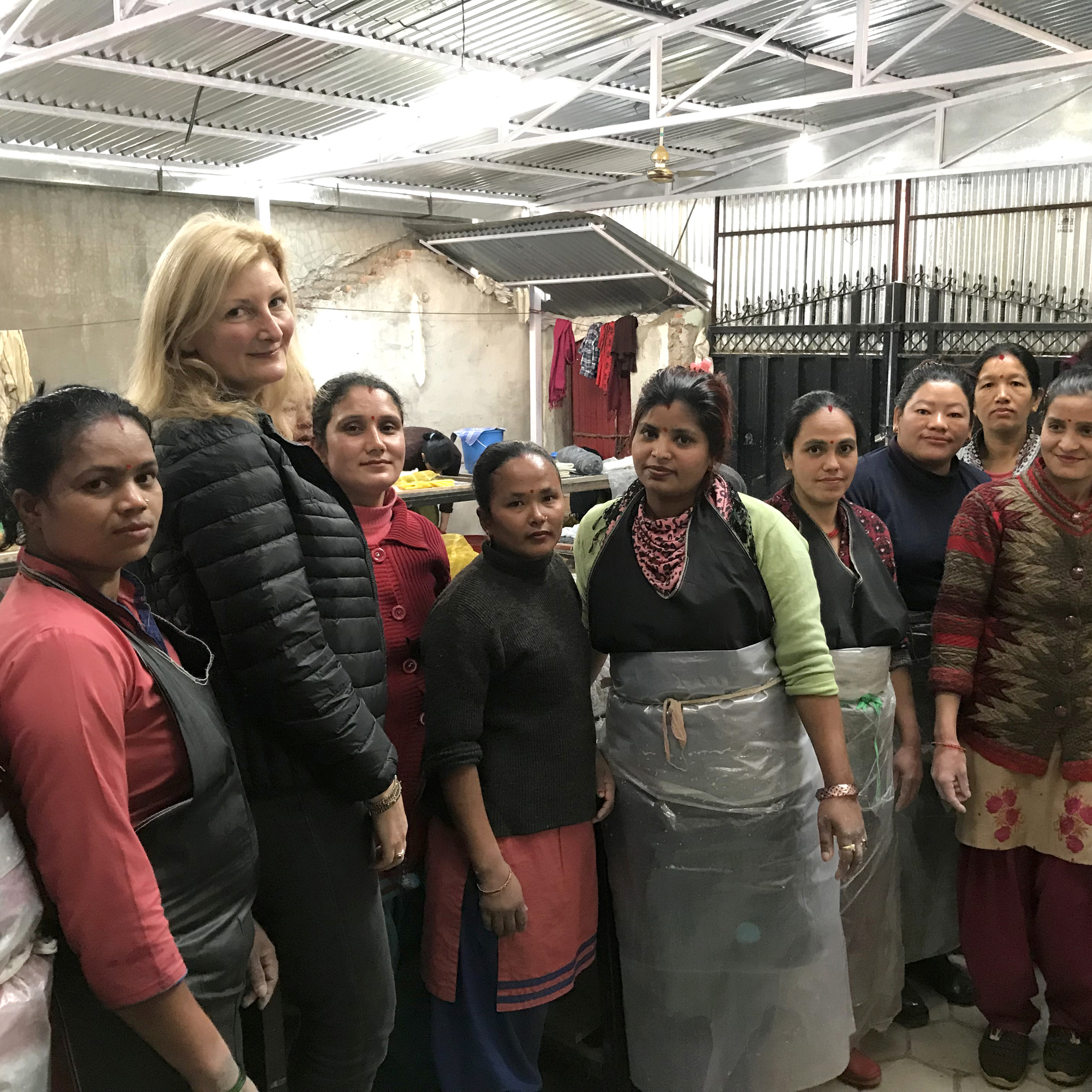 Sonia and the Nepalese Artisans