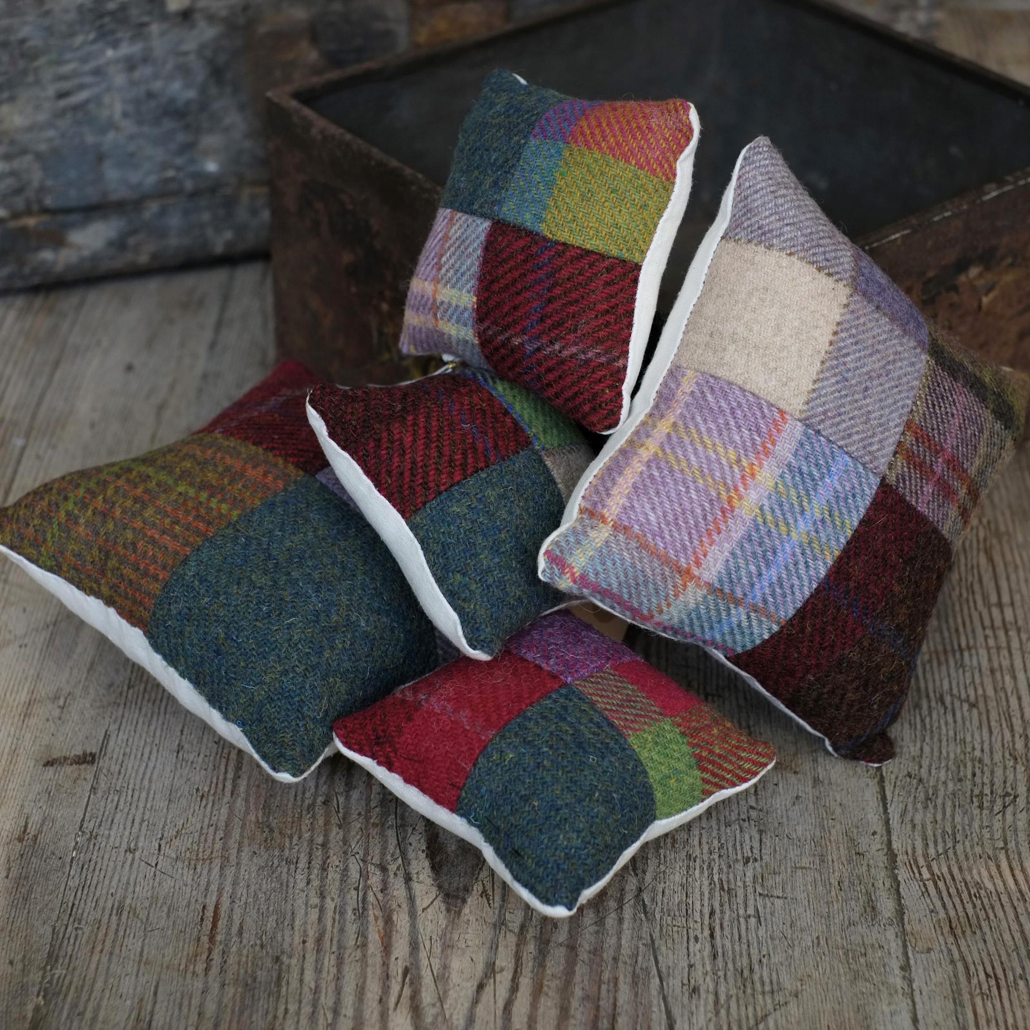 Tweedy Pin Cushions