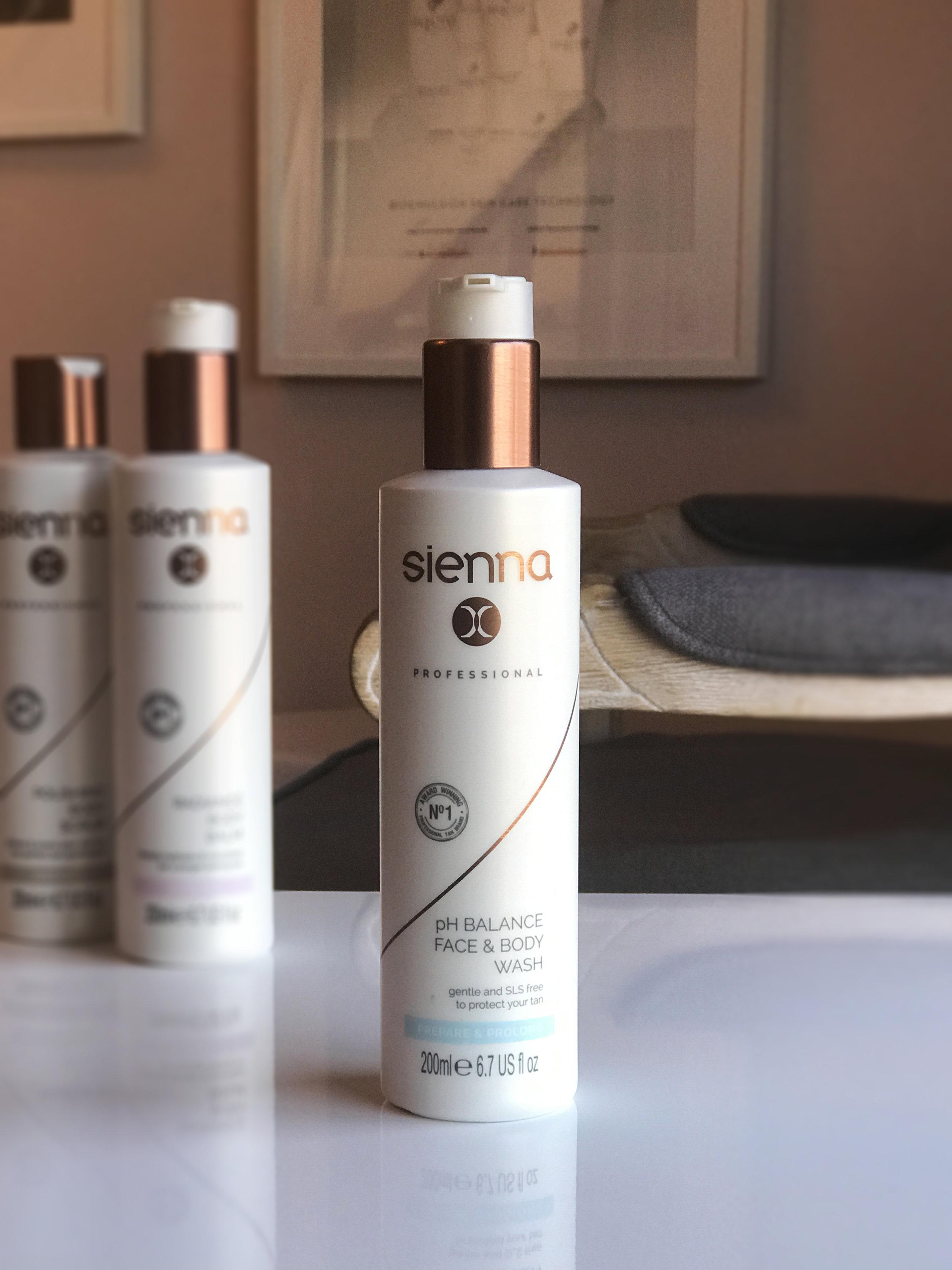 Sienna X pH Balance Face/Body Wash