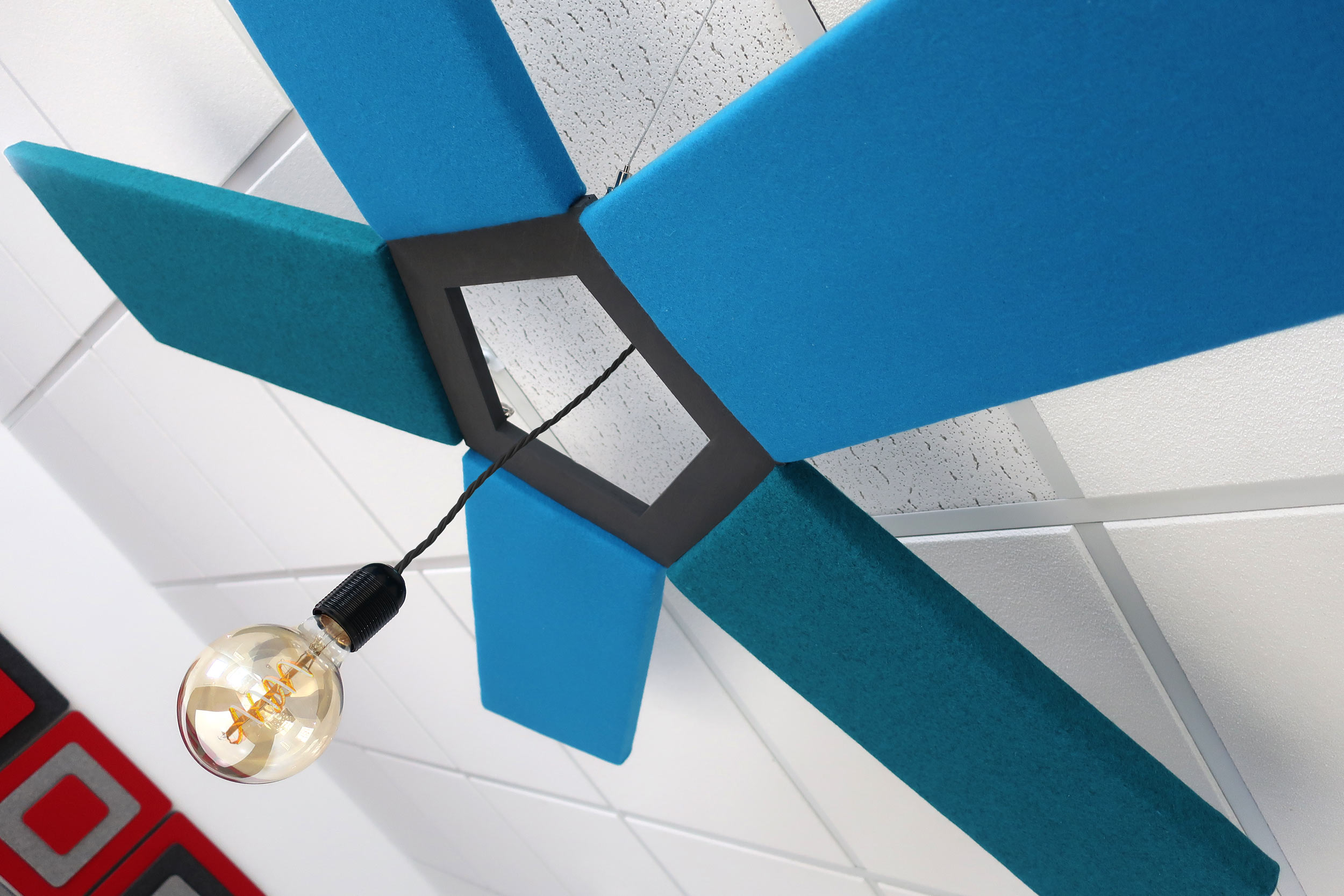 Acoustic Lighting Feature