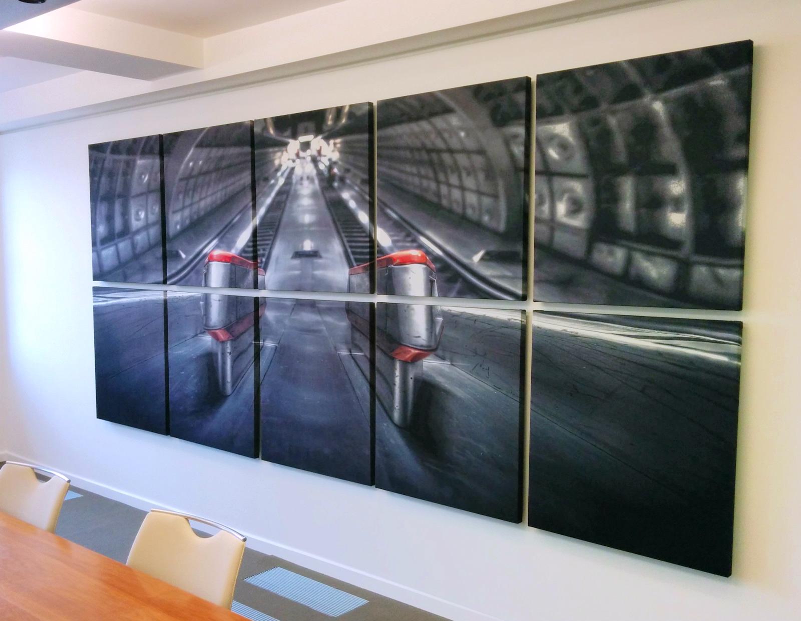 Acoustic Wall Art Panels
