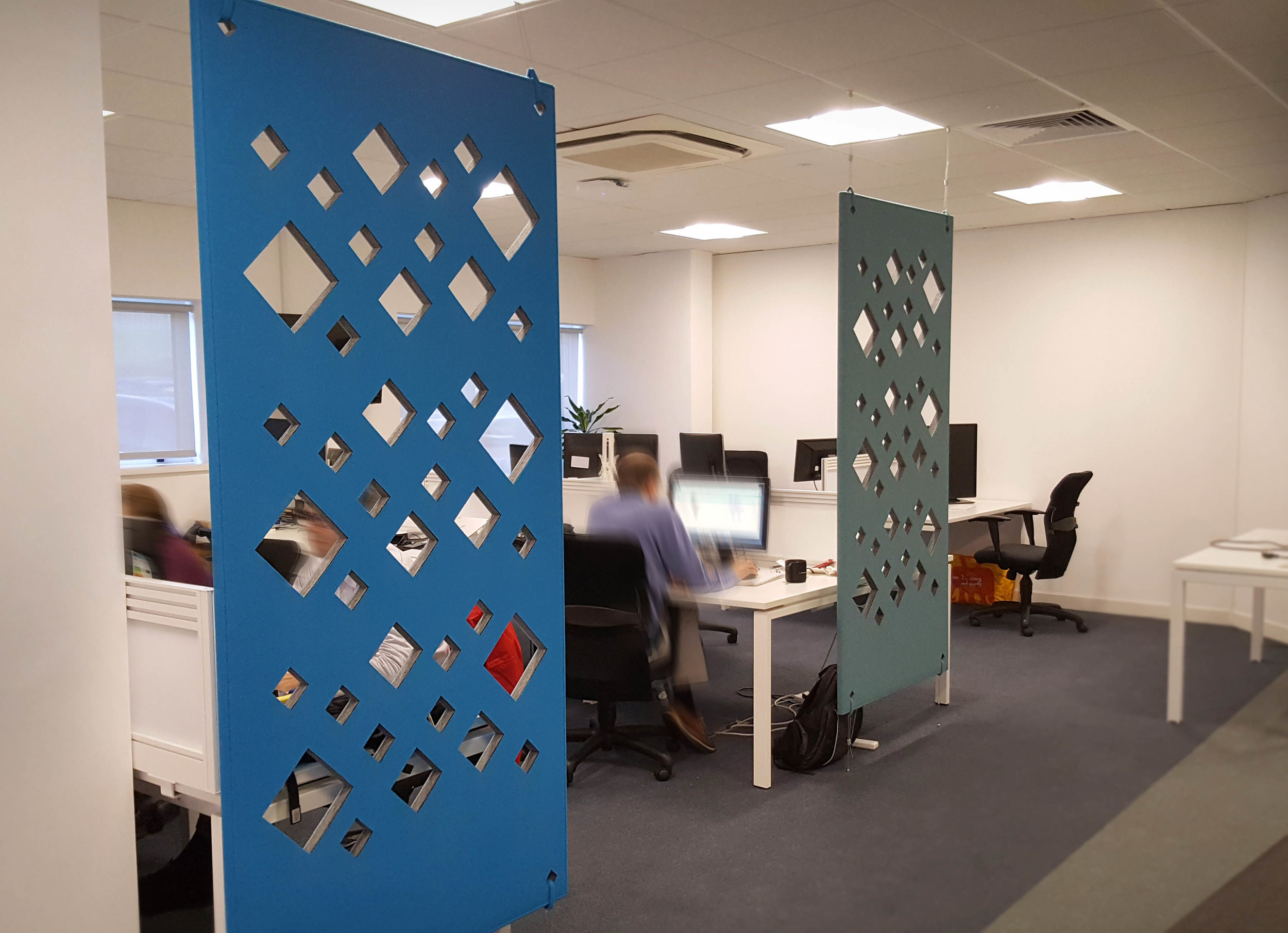 Workplace Acoustic Divider