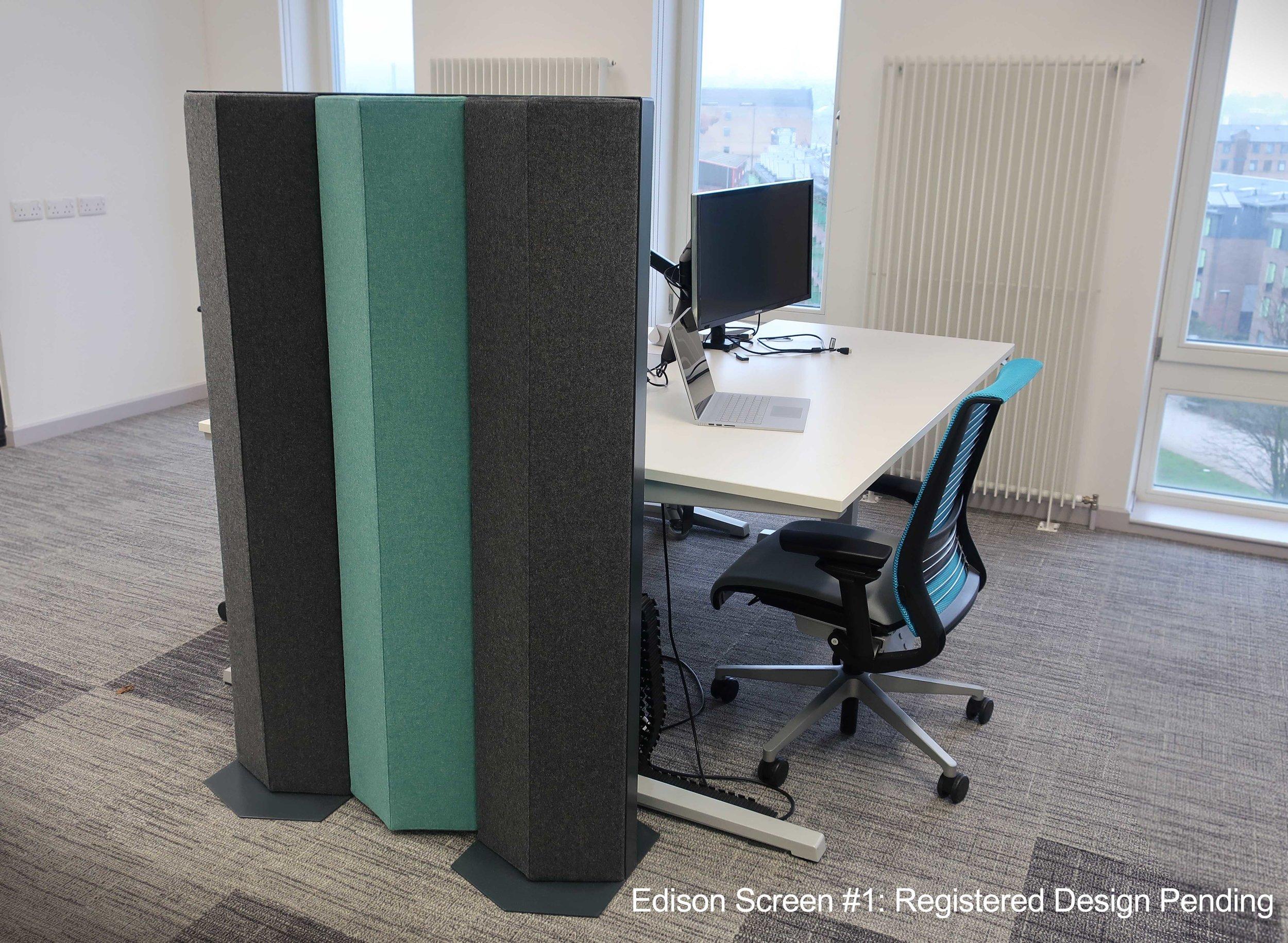Acoustic Freestanding Divider