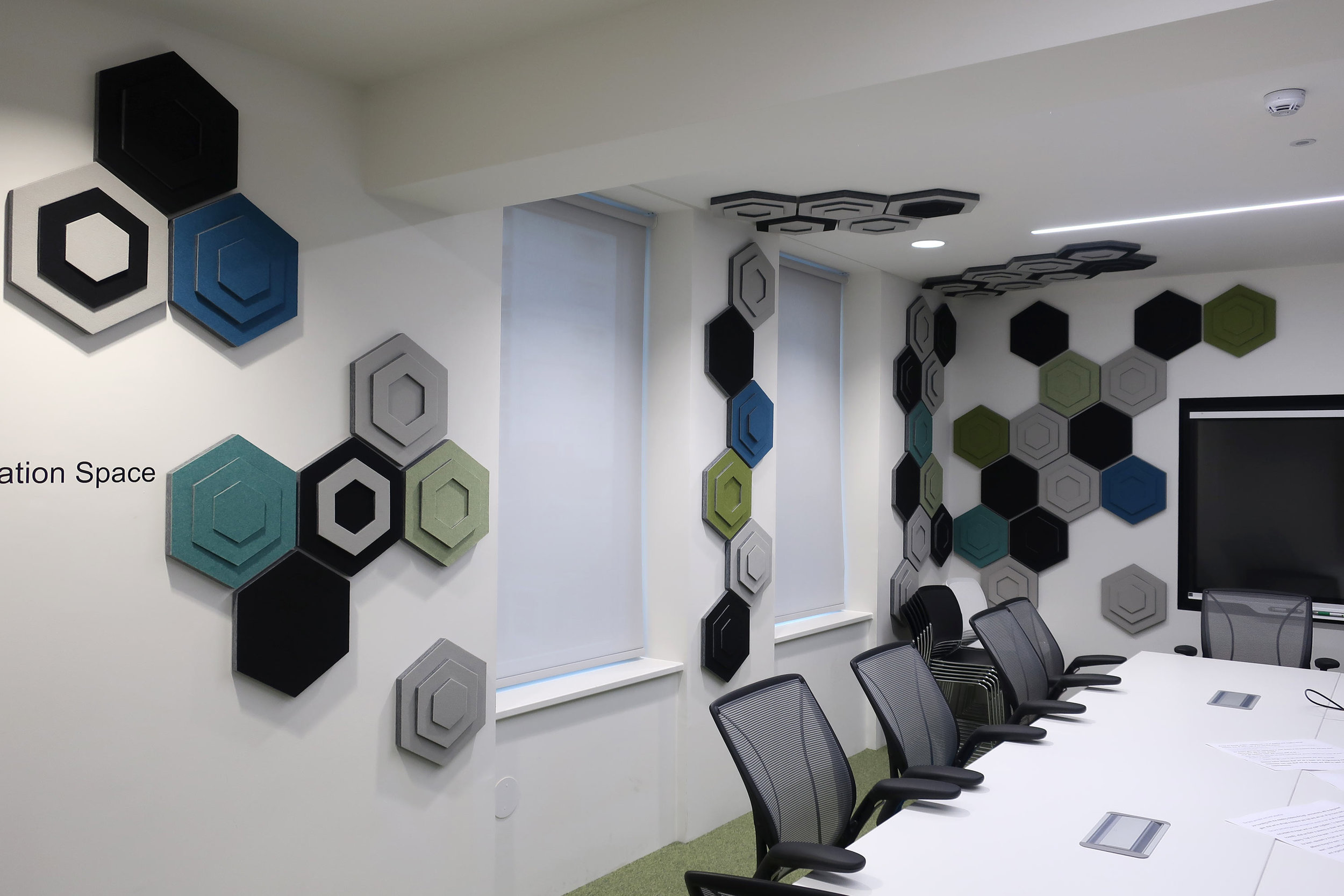 Office Acoustics Wall Tiles
