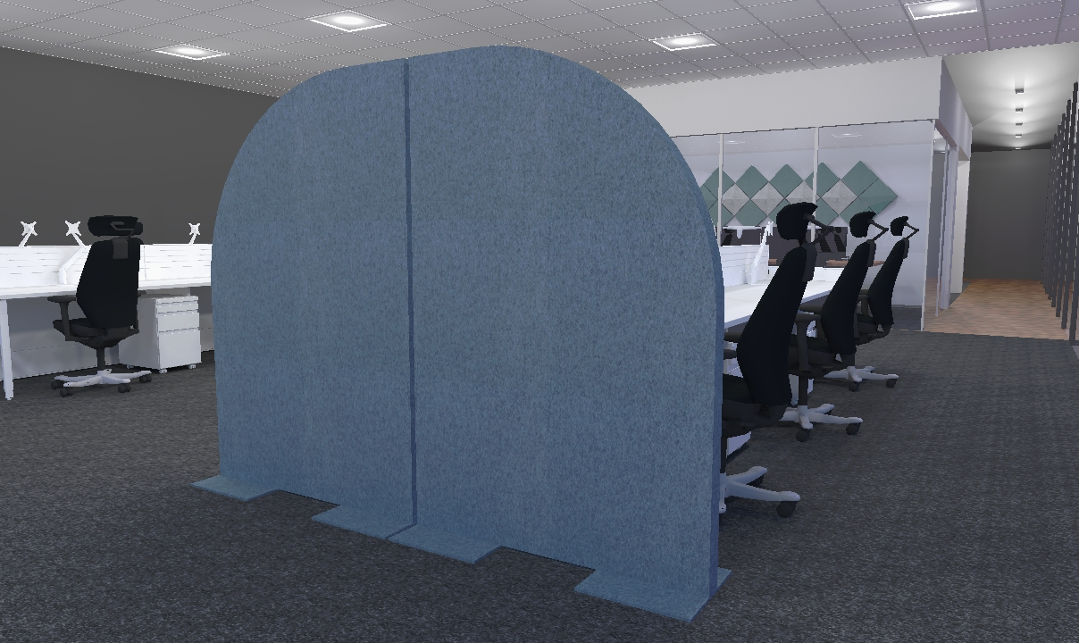 Acoustic Curved Screen
