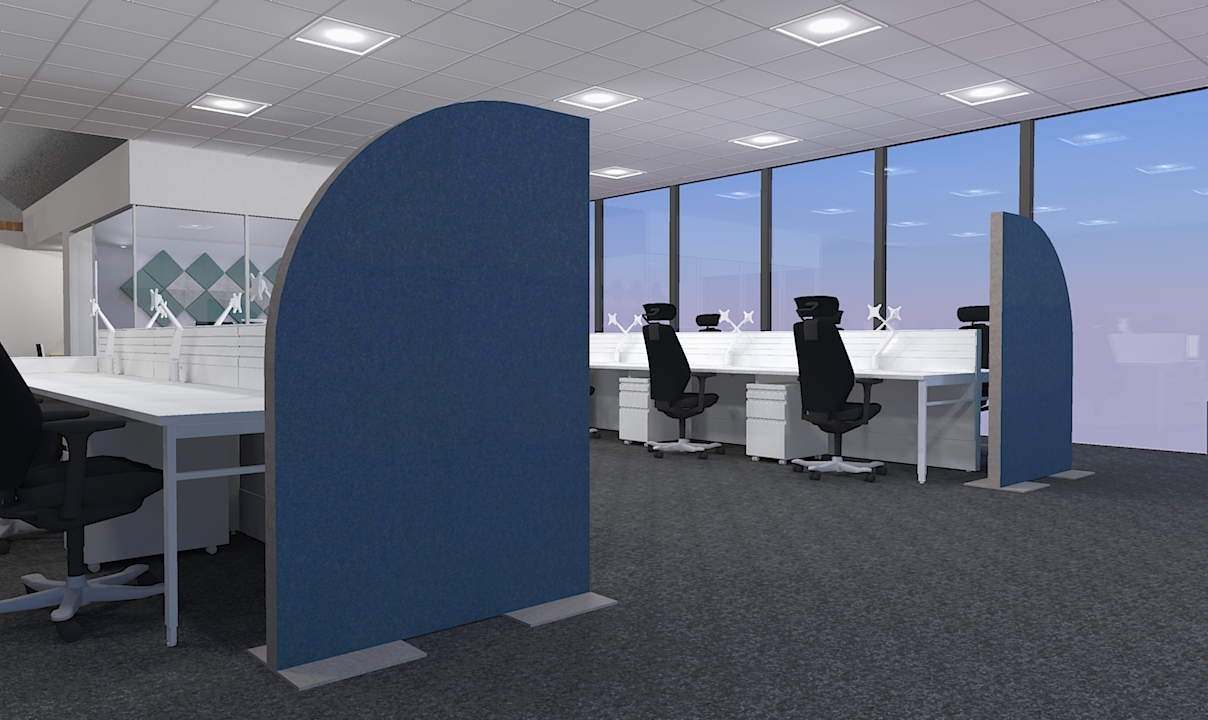 Freestanding Acoustic Panel