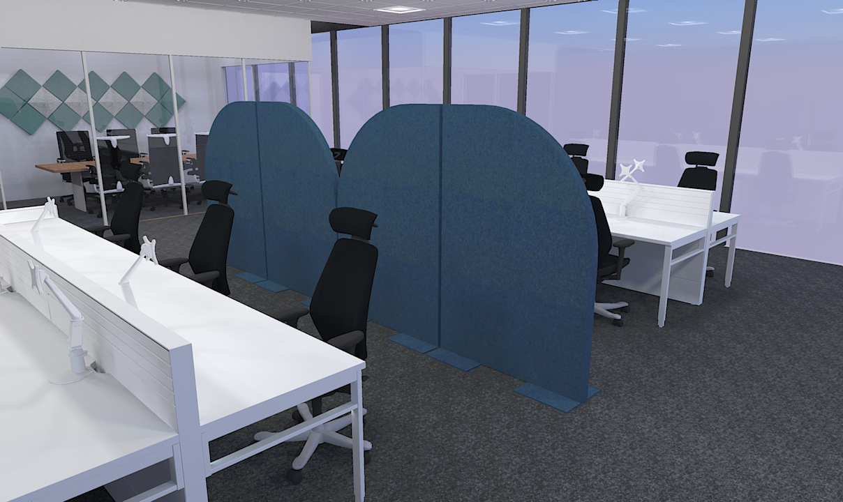Office Acousrtic Divider