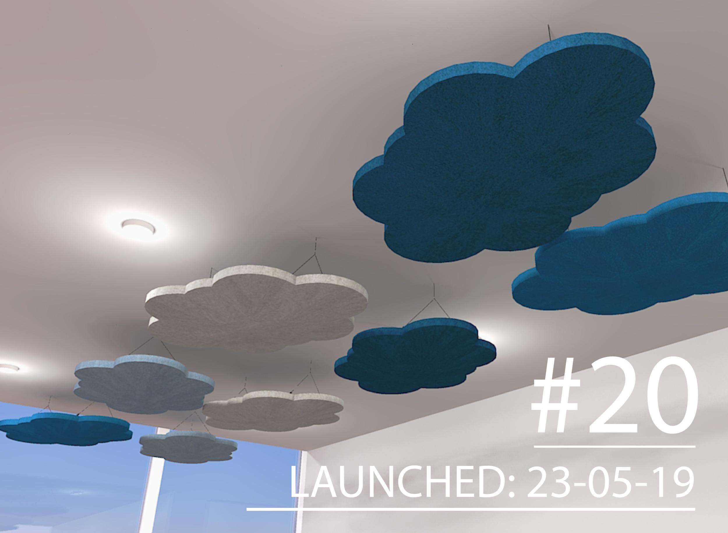 AgileCLOUD - Acoustic Cloud Baffle