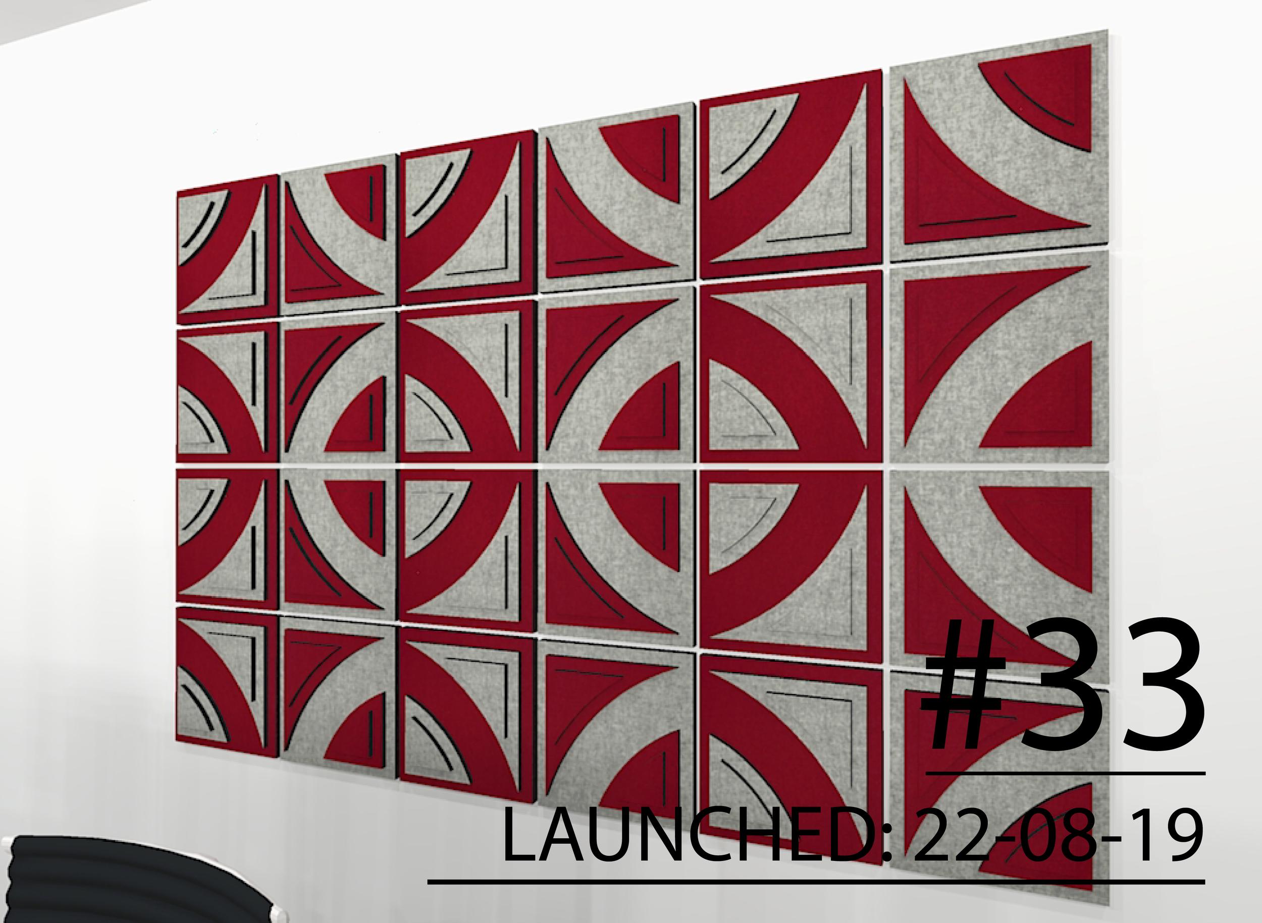 DECO Tile - Acoustic Wall Tile