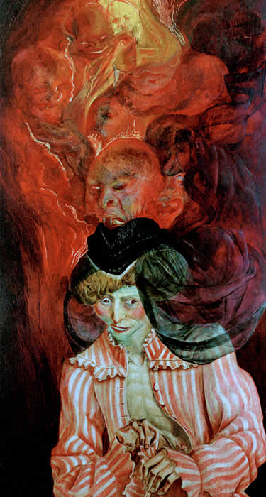 Otto Dix - The Mad Woman