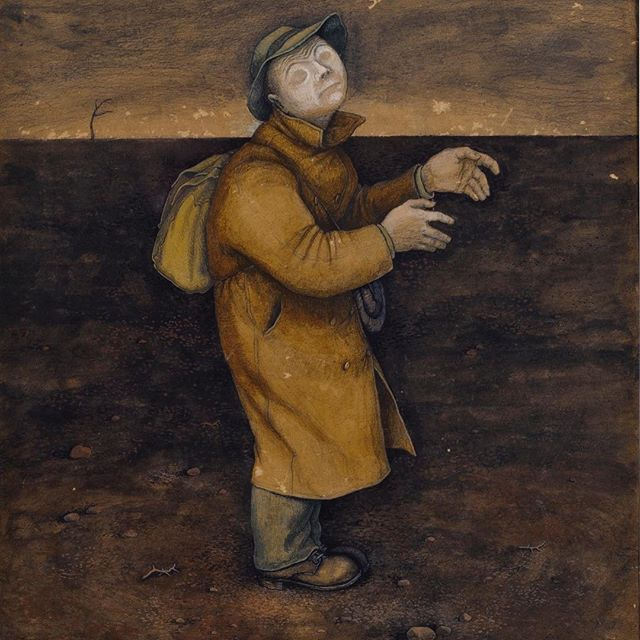 William Kurelek - Where Am I, Who Am I, Why Am I - 1953 . Featured in Art & Mind film, out now in cinemas. . Art & Mind is a journey into art, madness and the unconscious. An exploration of visionary artists and the creative impulse. . art-mind.co.uk . . #artmindfilm #williamkurelek #adolfwölfli #outsiderartist #rawvisionmagazine #outsiderart #artbrut #outsiderartfair #collectiondelartbrut #WaldauMentalAsylum #museelam #artbrutmuseum #outsiderartist #artsingulier #newcontemporaryart #selftaughtart #arthistorian #arthistorynerd #arthistory #storiadellarte #historiadelarte #histoiredelart #artdocumentary #artfilm #kunst #arte #visionaryart #hieronymusbosch #williamblake #dali