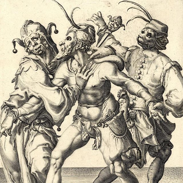 Jacob de Gheyn - Three Dancing Men - 1595 .  Art & Mind is showing this week in Australia, USA, Germany, UK and Denmark. Tickets & info via art-mind.co.uk . Art & Mind is a journey into art, madness and the unconscious. An exploration of visionary artists and the creative impulse. . art-mind.co.uk . . . . #artmindfilm #JacobdeGheyn #hieronymusbosch  #bosch #bruegel #flemishpainting #flemishfriday #flemishmasters #renaissance #pieterbruegel #outsiderartist #newcontemporaryart #arthistory #madartmag #artandmindfilm #arthistorian #arthistorynerd #storiadellarte #historiadelarte #histoiredelart #elbosco #elprado #visionaryart #williamblake #dali #fuseli