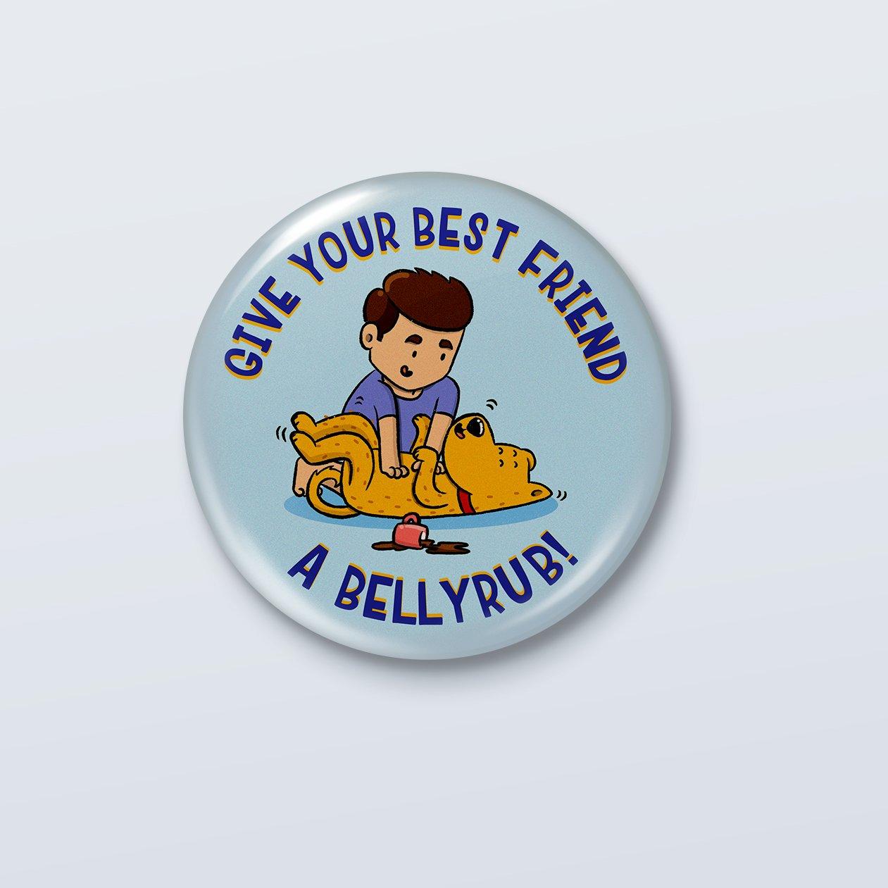 Belly Rub Badge - ₹49