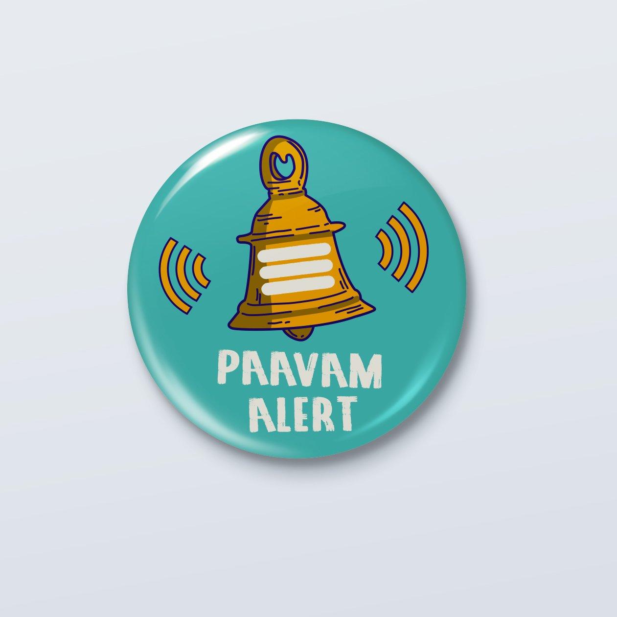 Paacam Alert Badge- ₹49