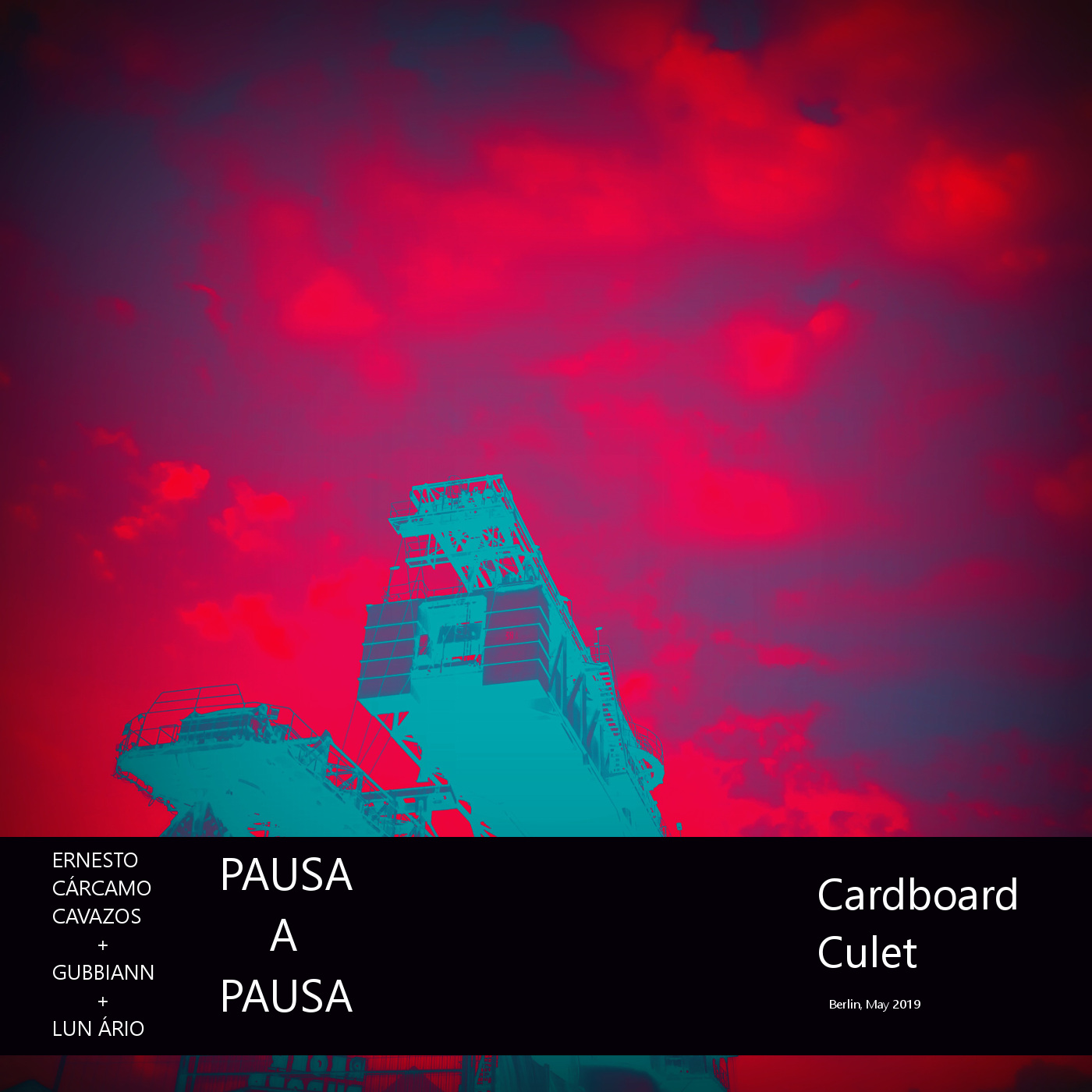 "cardboard culet (2019) - Improvisational compilation as part of ""Pausa A Pausa"" with Gubbiann and Lun Ário1. session #01 13.05.20192. session #02 13.05.20193. session #01 22.05.2019"