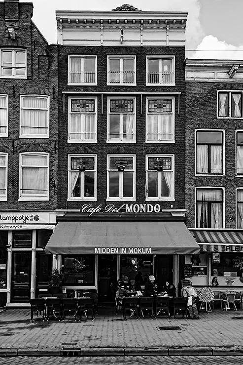 Café del Mondo, Amsterdam - Eerbetoon