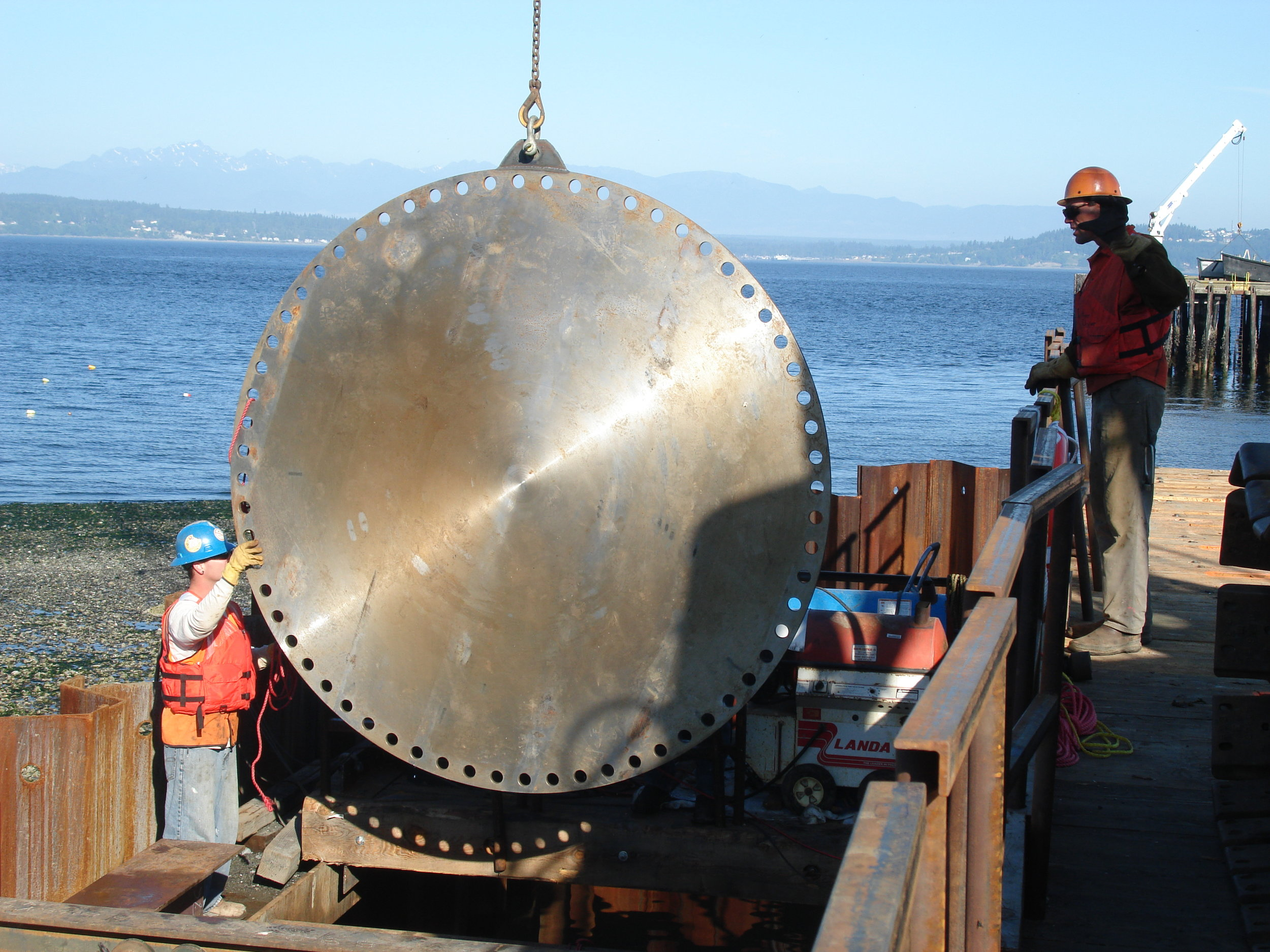 Triton Marine - Diving Activities At The Steel Trench Dam 005.JPG