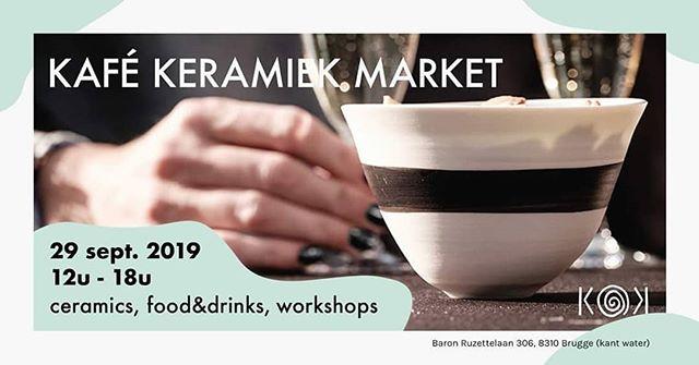Wil je alles te weten komen over keramiek, en pottenbakken? Wees dan zeker aanwezig op de eerste verjaardag van @kafekeramiek ! Meerdere standen, demo's, foods and drinks staan op jou te wachten!!! #kafekeramiek #pottenbakken #keramiek #klei #ceramics #draaien #handcrafted #handwerk #handmade #pottery #exclusive #clay #origineelgeschenk #ambacht #wheelthrown