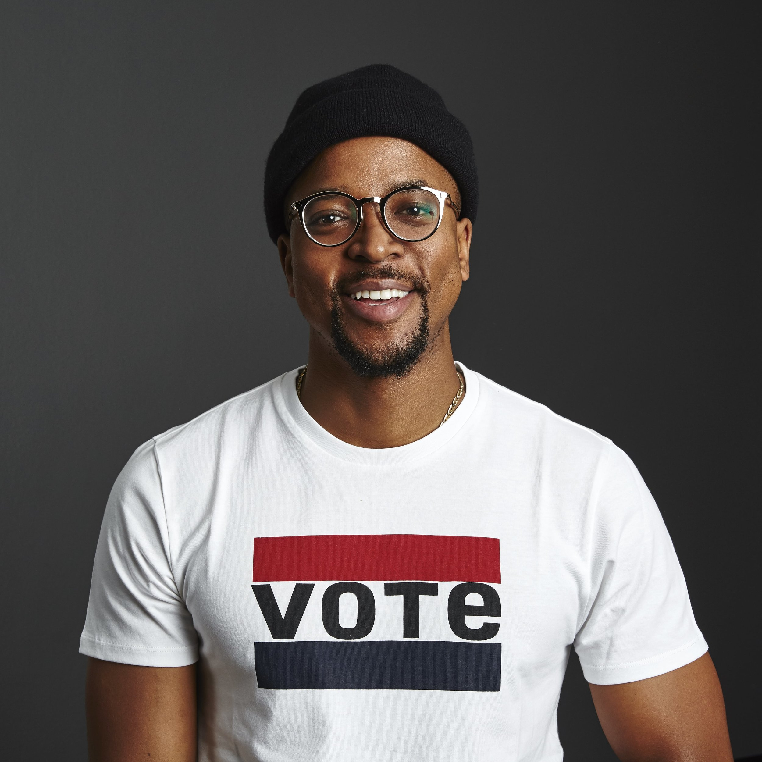 """Let us not take for granted the power that each and every one of our votes hold, to determine the future of our country. Voting is a privilege that honours those that fought, to grant us that right. On the 8th of May let's go to the election polls in our numbers and ensure our voices are heard! It's our responsibility."" - Maps Maponyane"