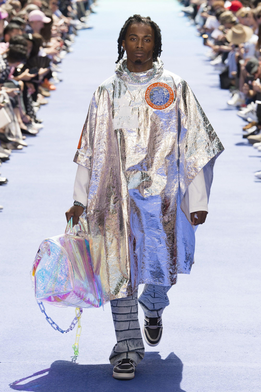 Playboi Carti walking Virgil Abloh's first Louis Vuitton show