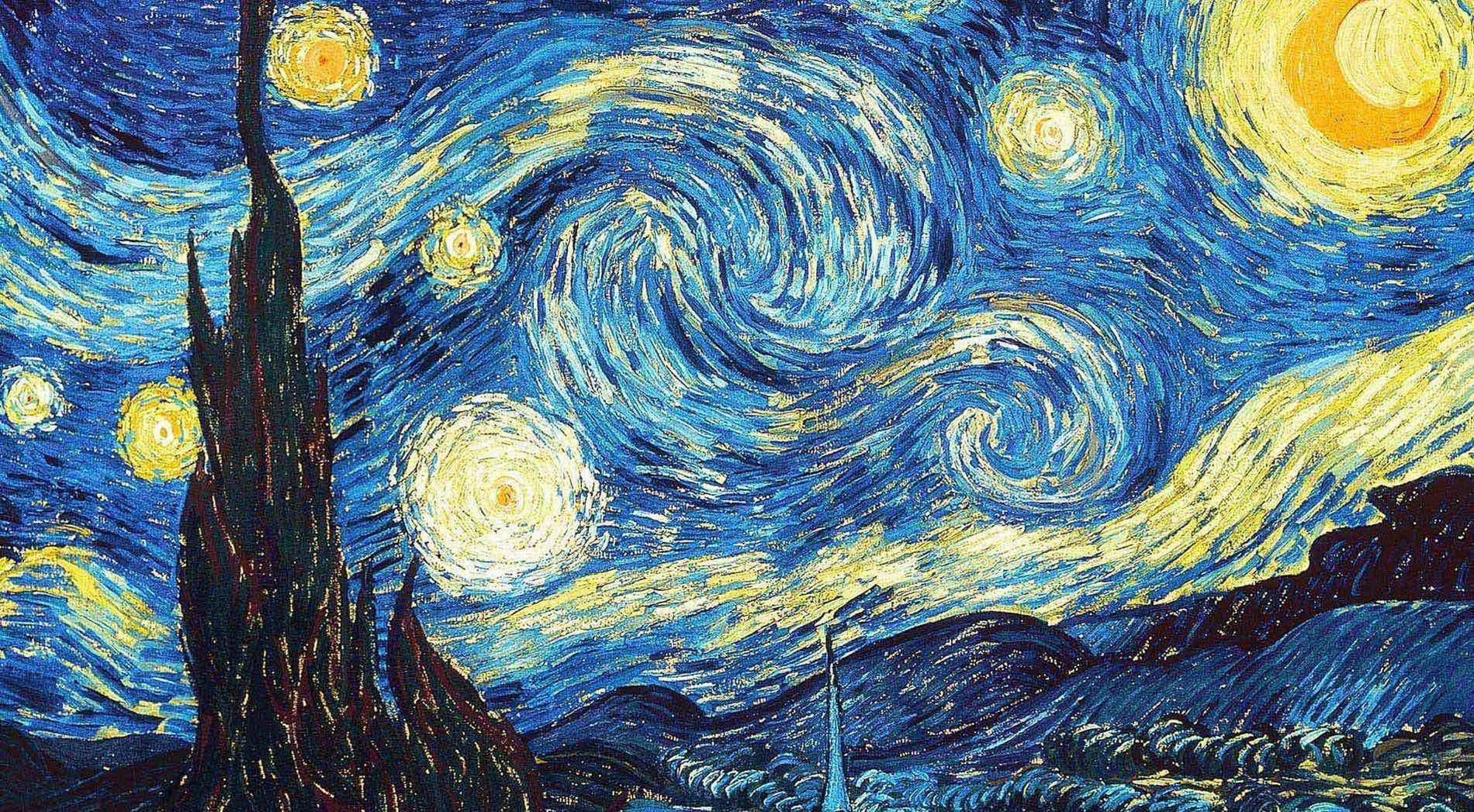 Vincent Van Gogh | Starry Night (1889)