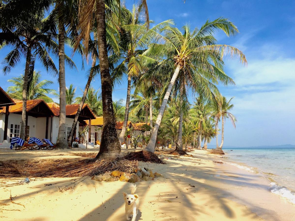 Praia em Phu Quoc. Foto:Patti Neves