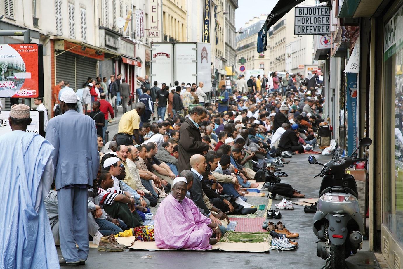 Barbés - Rochechouart, Paris. Crédito: Alamy