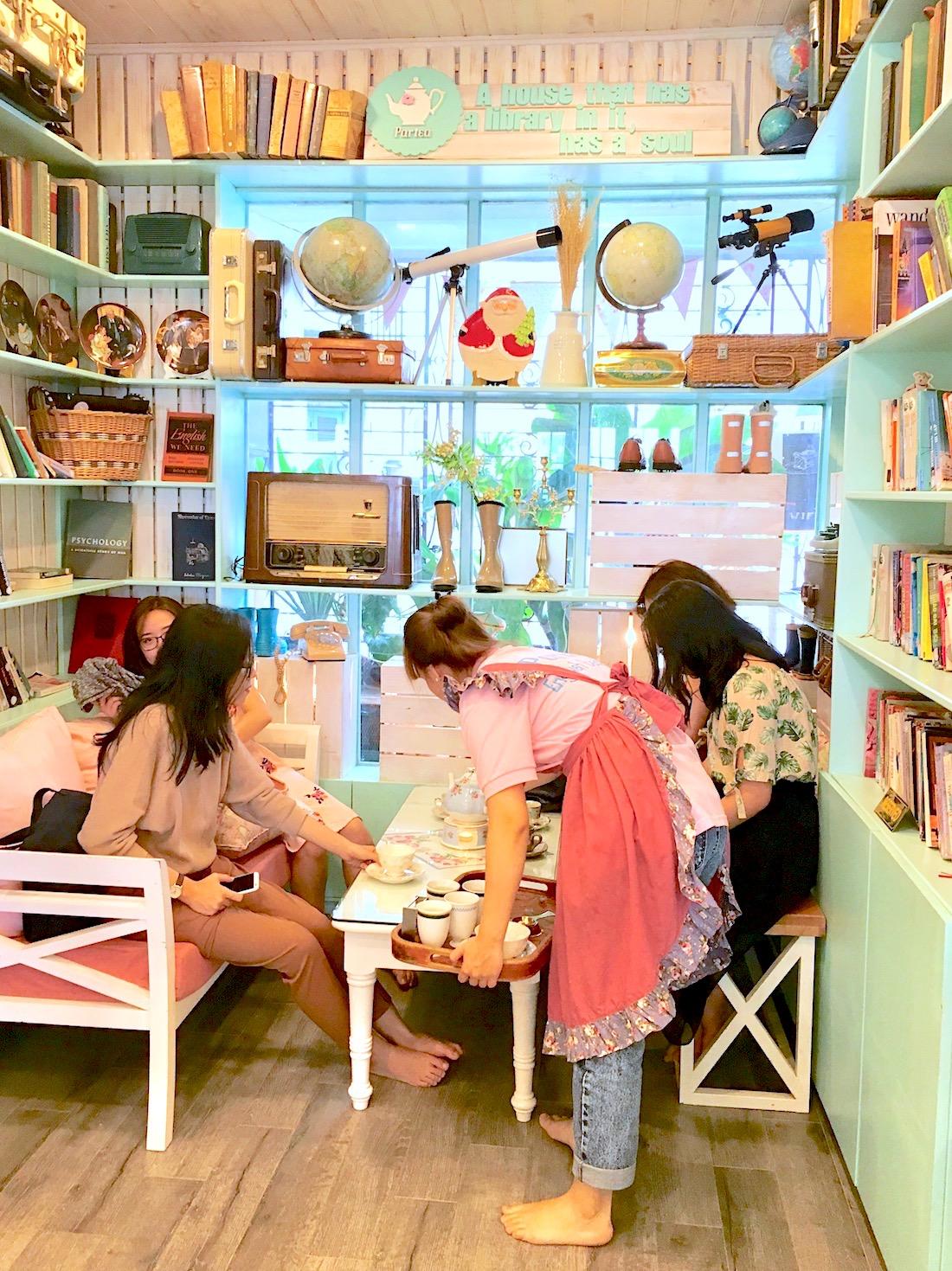 Self proclaimed British-style tea room, Ho Chi Minh City. Photo: Patti Neves